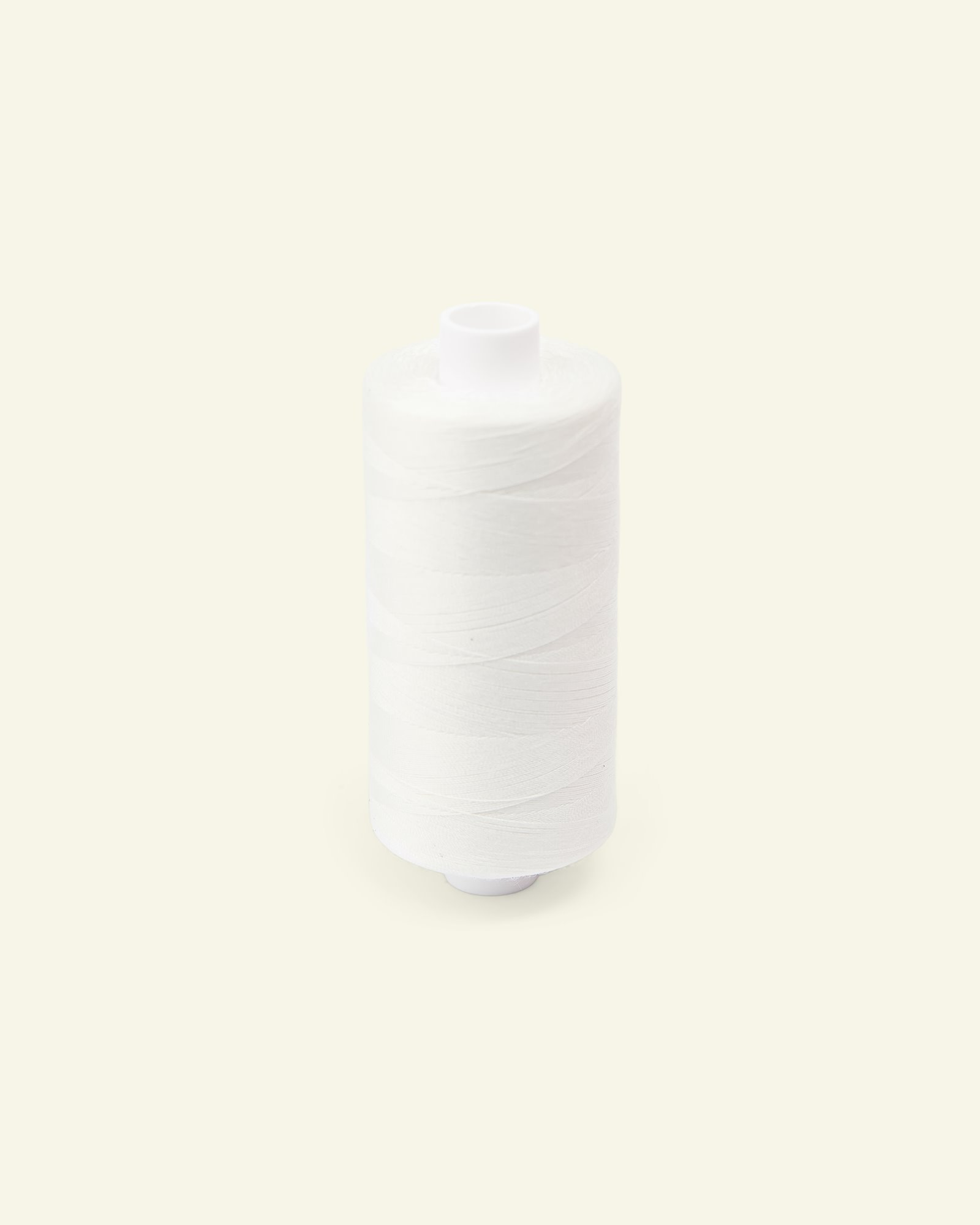 Sewing thread off white 1000m
