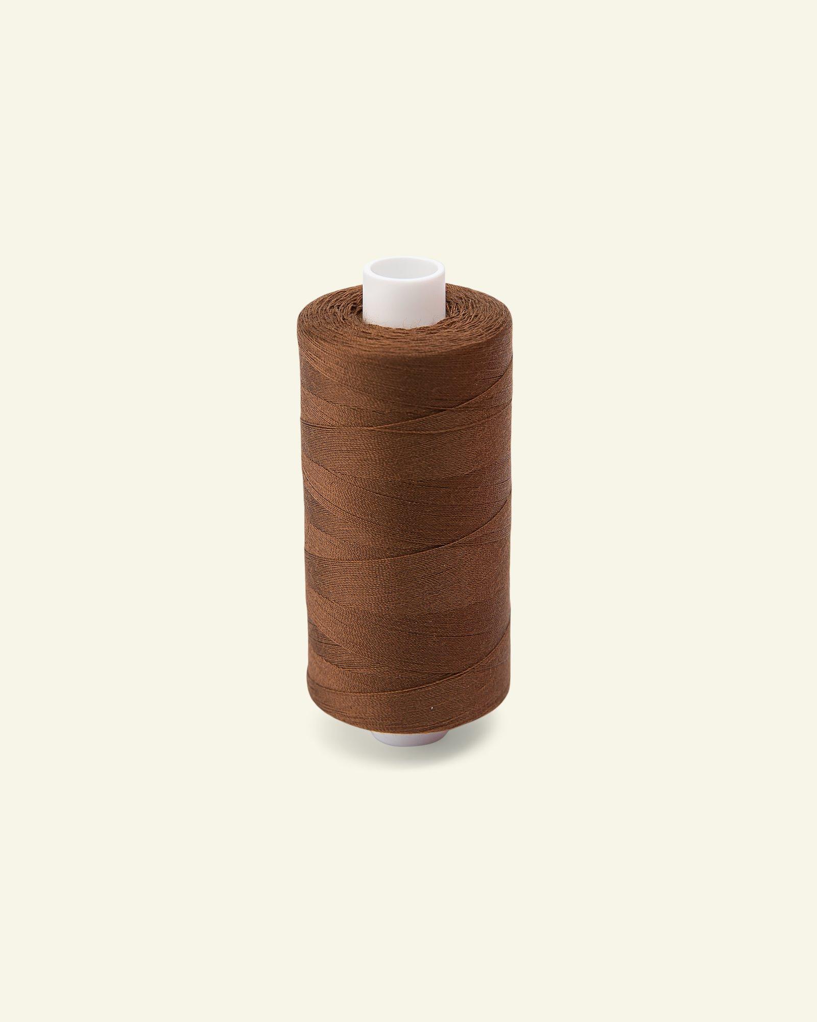 Sewing thread nougat brown 1000m