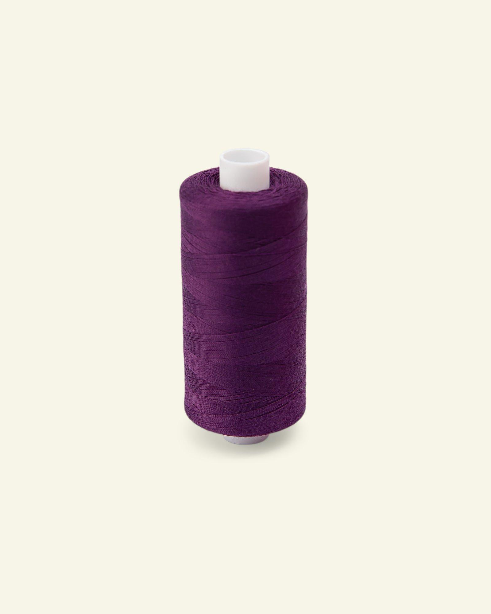 Sewing thread light aubergine 1000m