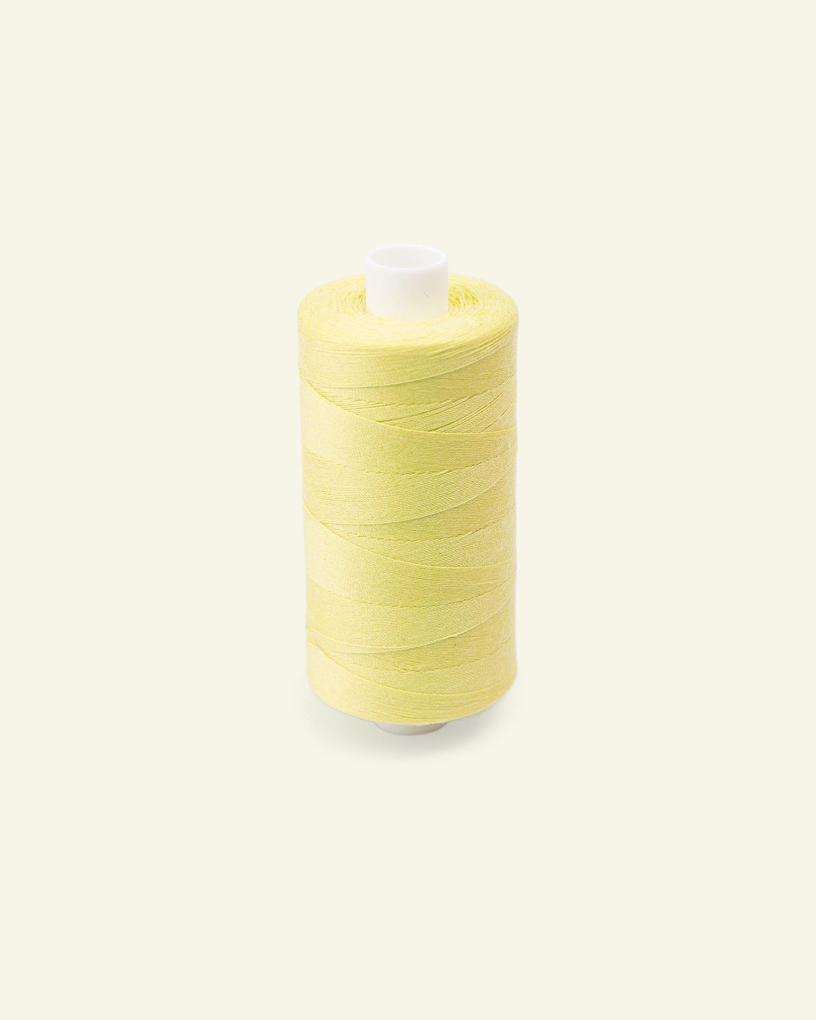 Sewing thread light lemon 1000m