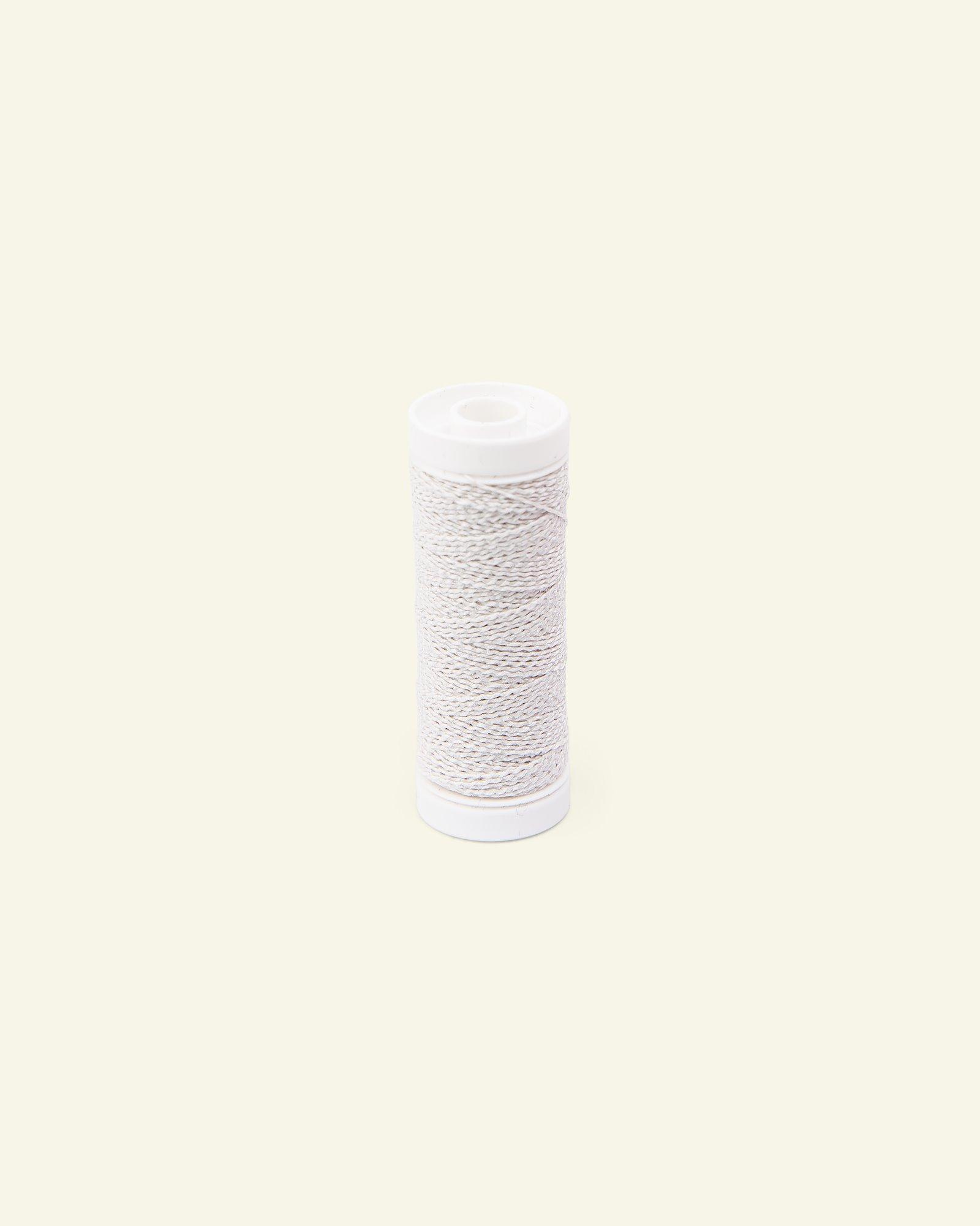 Elastic thread white 20m