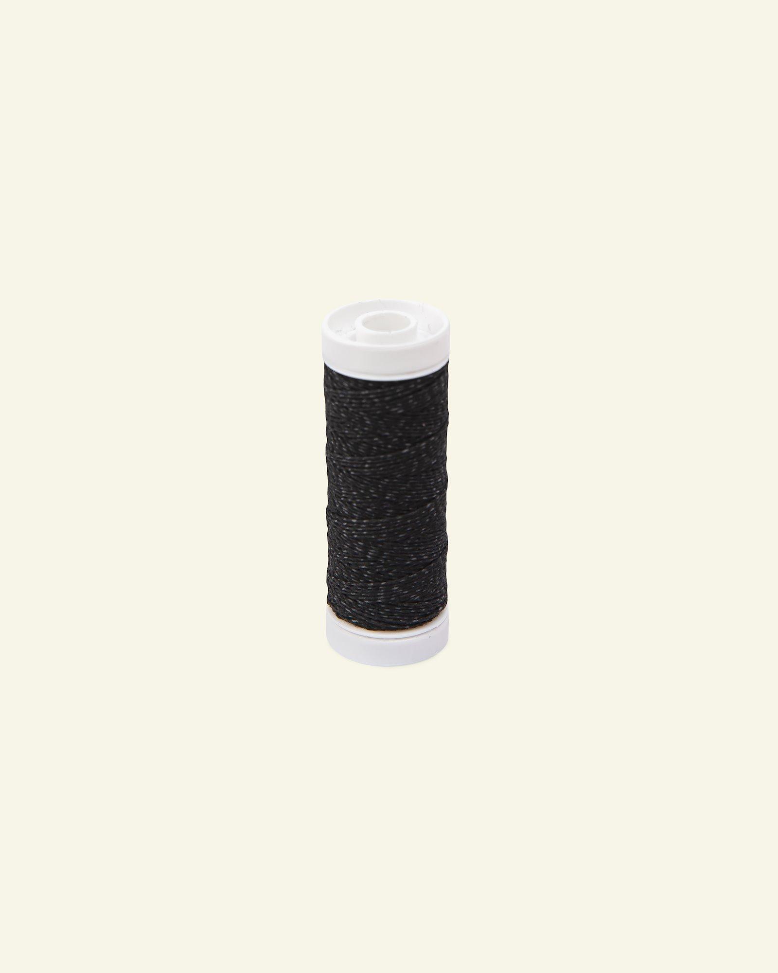 Elastic thread black 20m