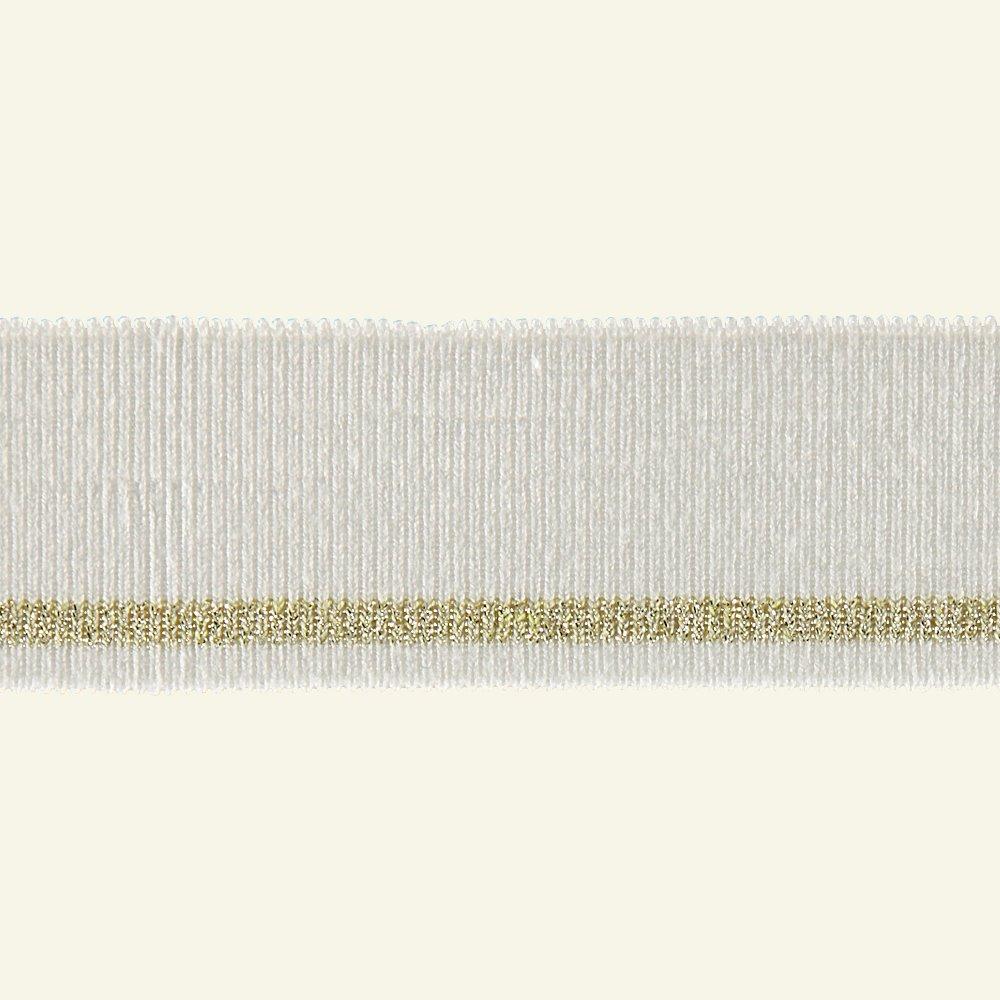 1x1 rib 3,5x100cm nature/gold lurex 1pcs 96130_pack