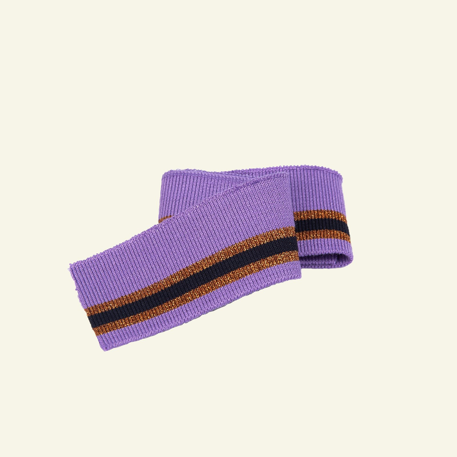 1x1 rib 3,5x100cm purple/copper/black 1p 96180_pack