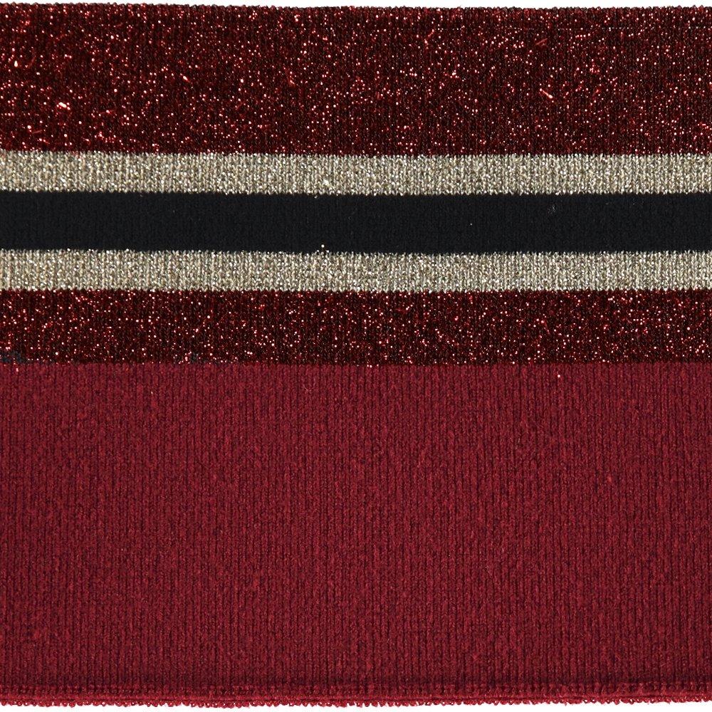1x1 rib fold 11x100cm red/black lurex 96124_pack