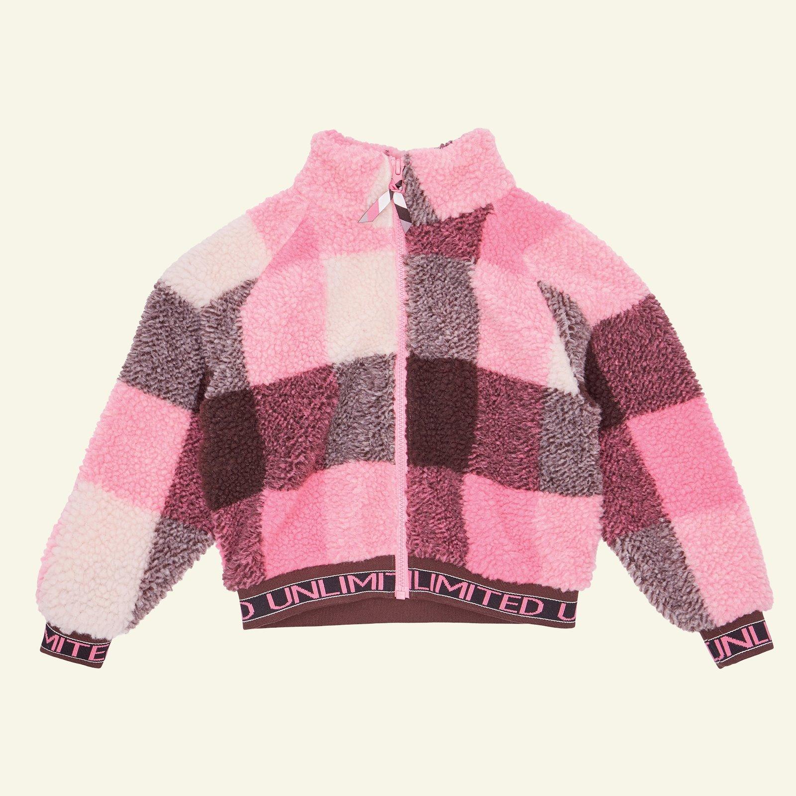 1x1 rib fold 13,5x100cm caramel/pink 1pc p64020_910277_96184_sskit
