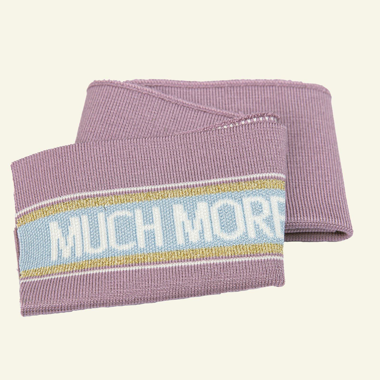1x1 rib fold 14x100cm dusty pink 1pc 96187_pack