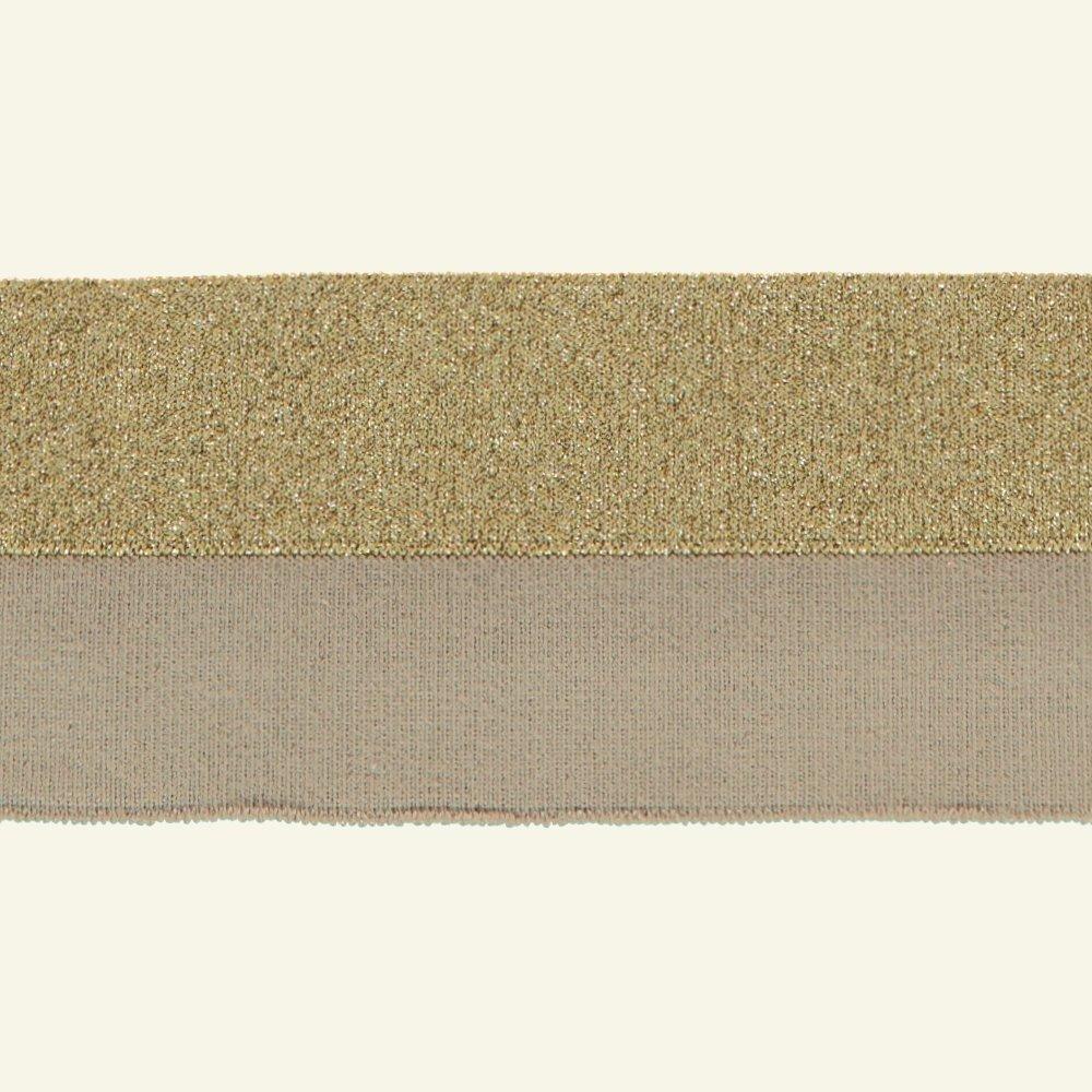 1x1 rib fold 3cm x100cm beige/gold lurex 96083_pack