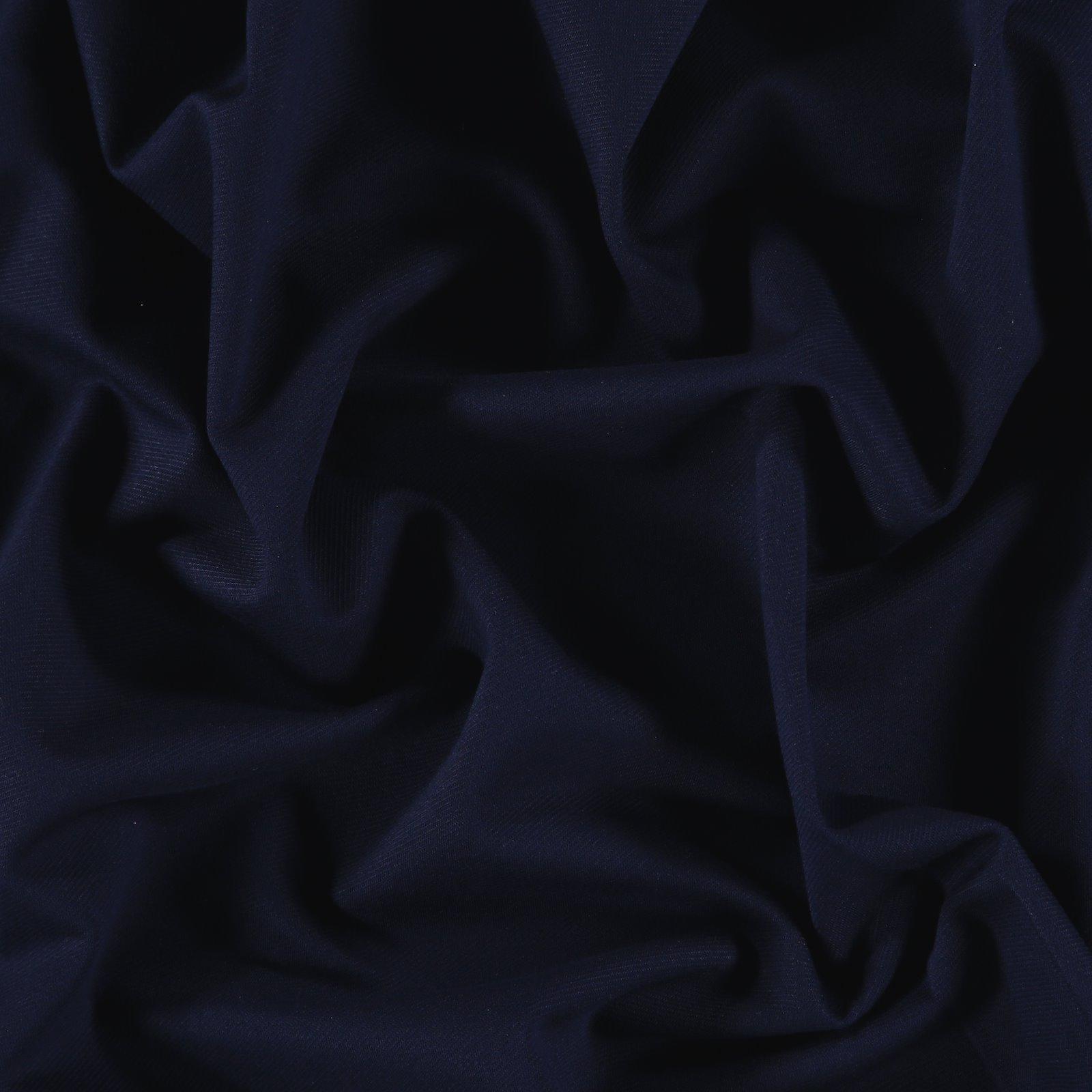 Kräftiger Jersey-Twill, Dunkel Blau