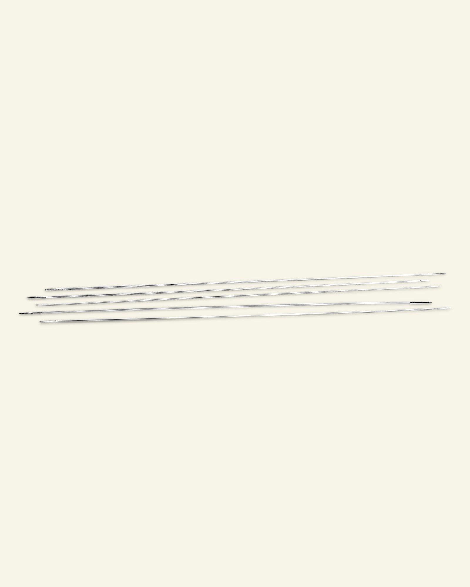 Beading needle / split needle 10cm 5pcs