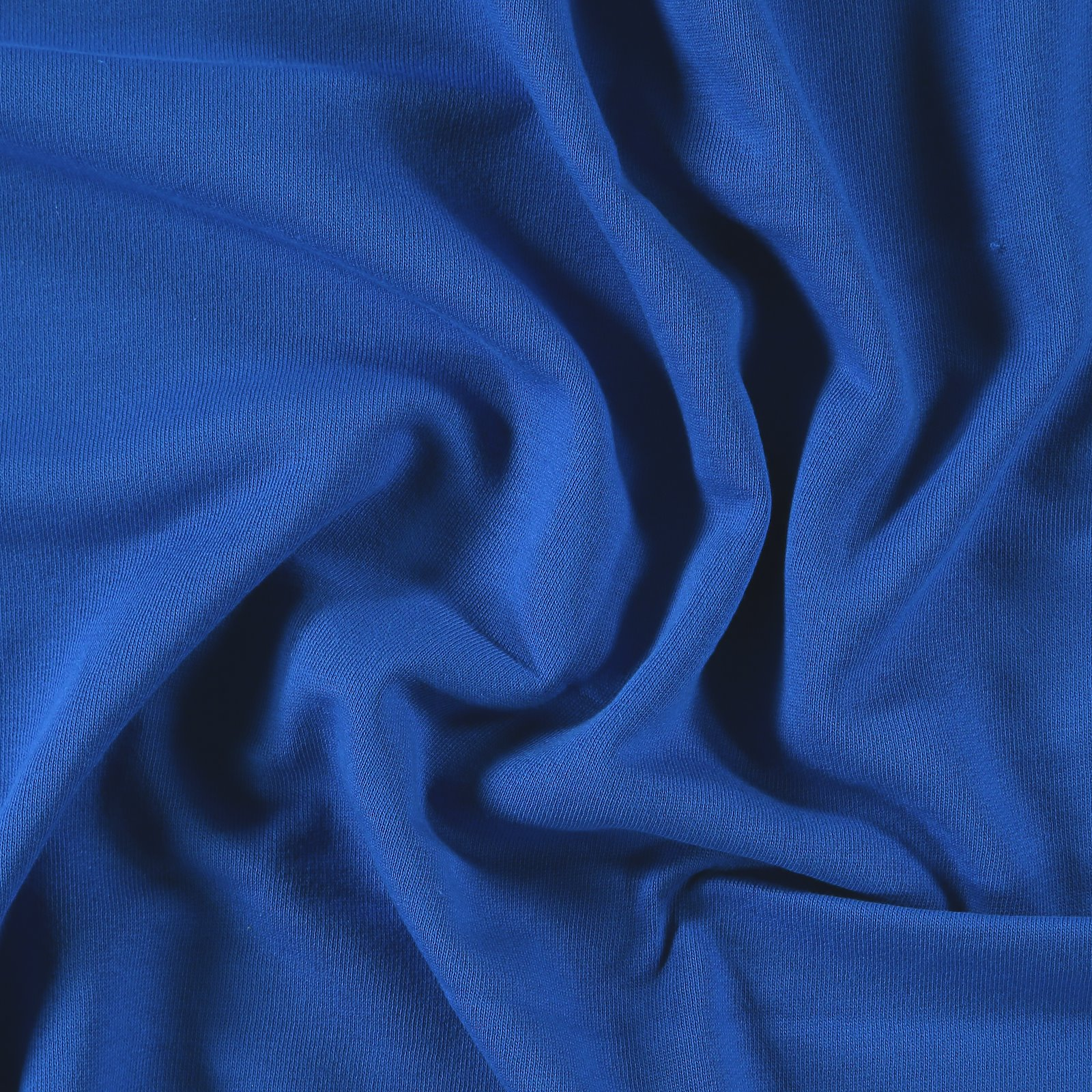 Organic Sweat, angeraut, Kobaltblau