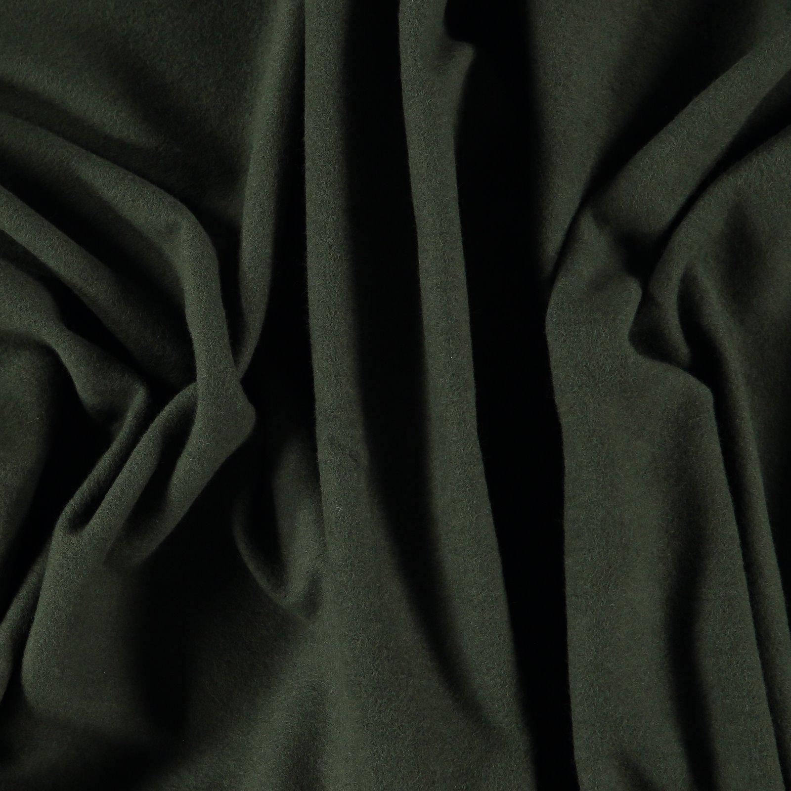 Organic Sweat angeraut, Armygrün