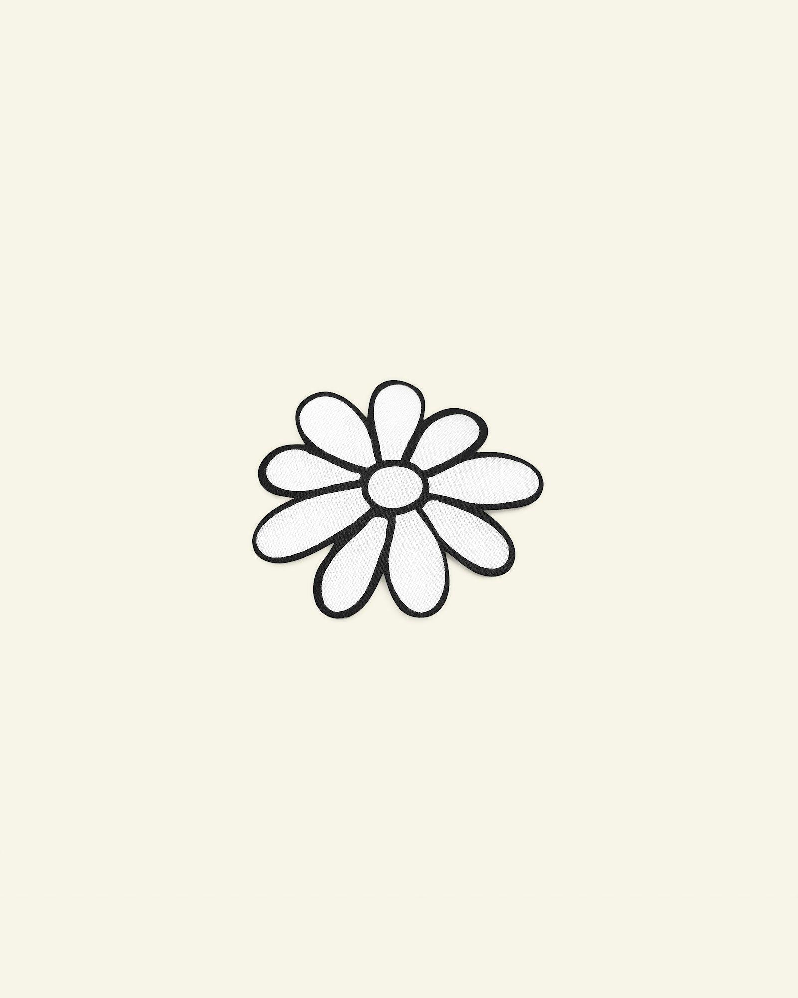 Patch flower 67x63mm 1pc