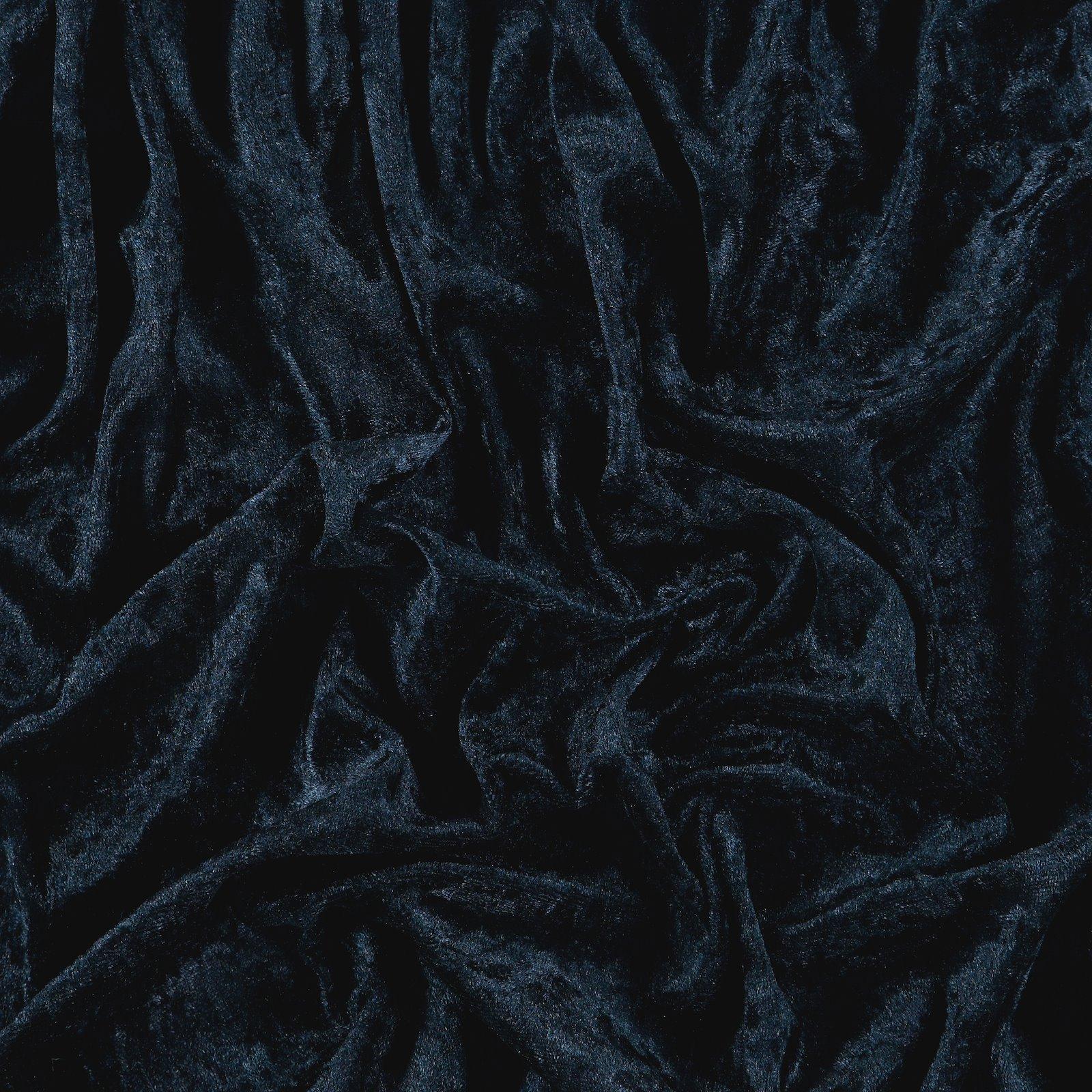 Pannesamt, Mitternachtsblau