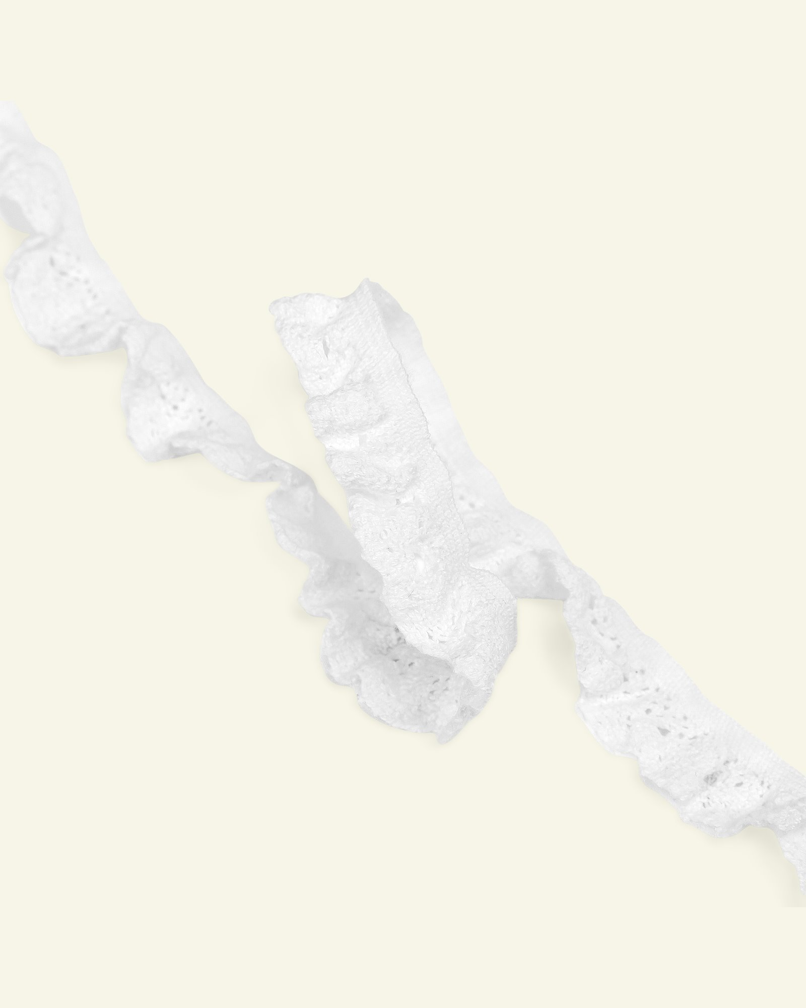 Lace stretch 17mm off white 3m