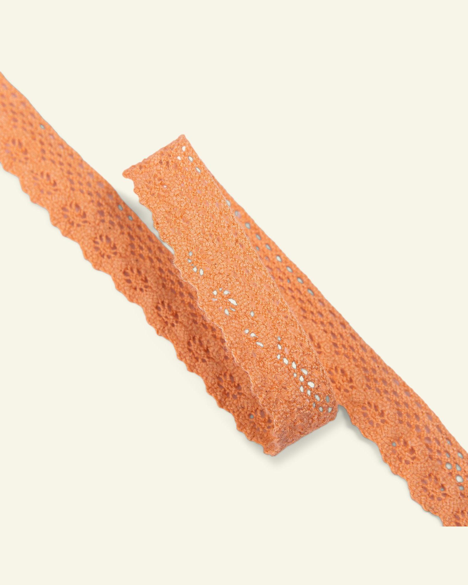 Lace 17mm peach 3m