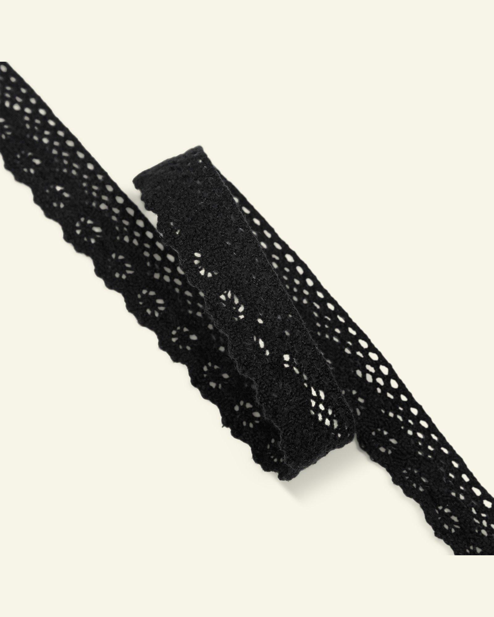Lace 17mm black 3m