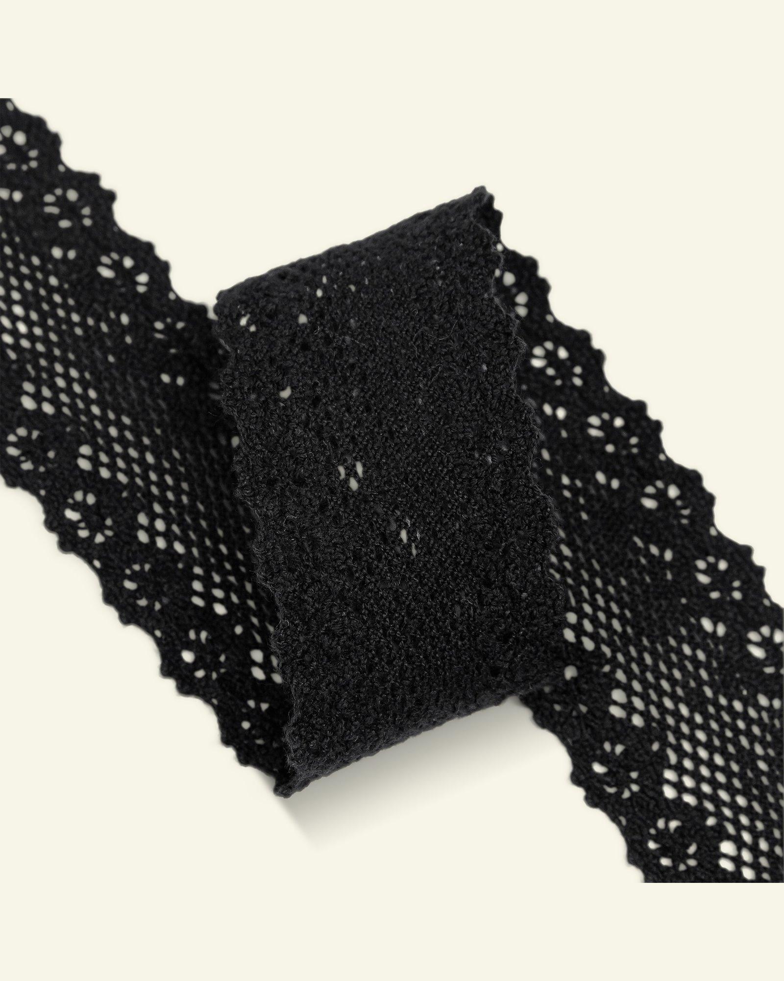 Lace 30mm off black 3m