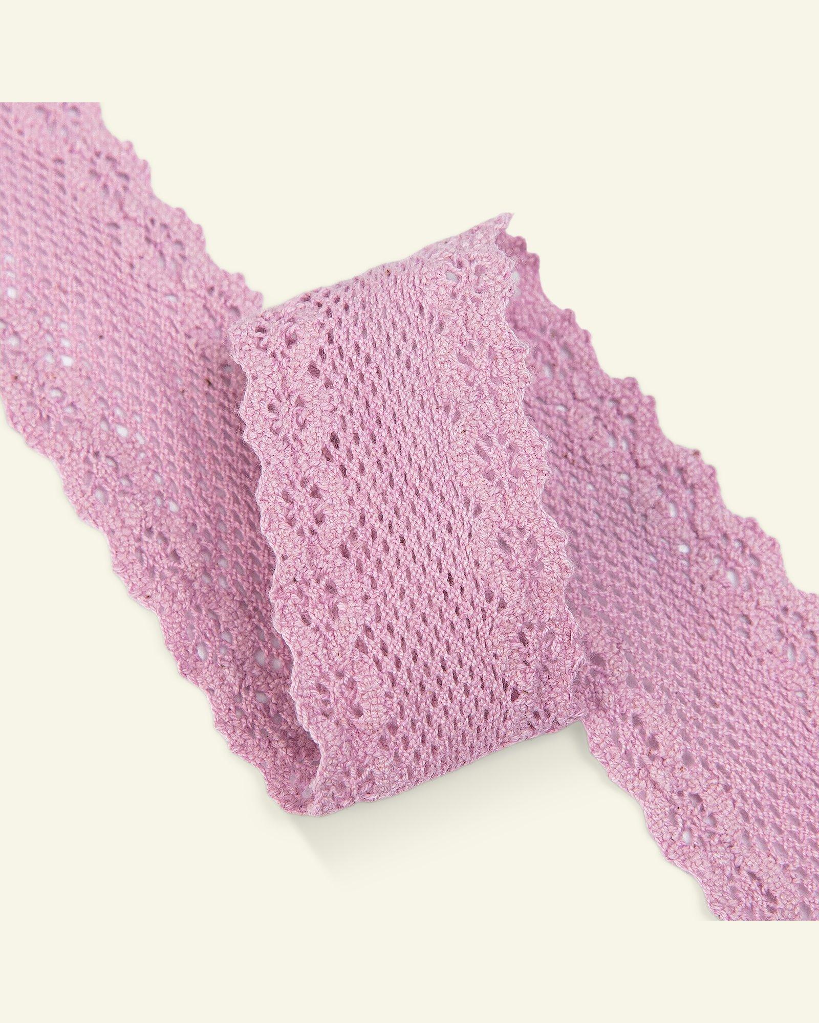 Lace 30mm light dusy violet 3m