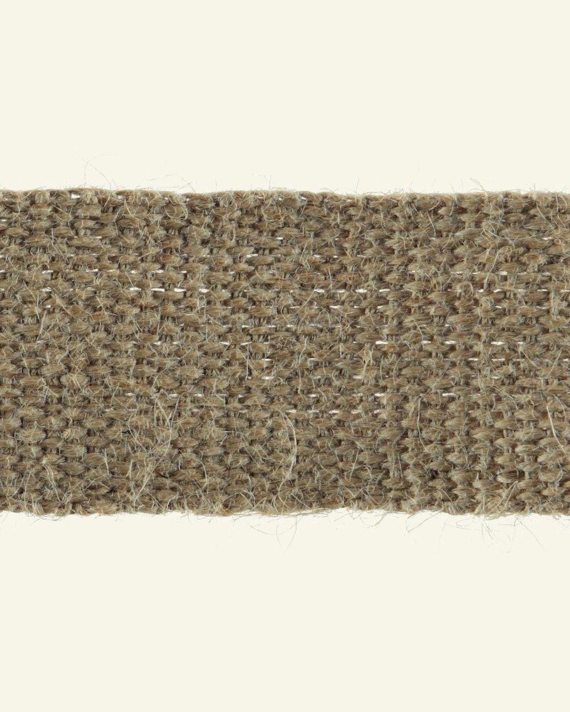 Jute Gurtband Kräftig 50 mm, 5m