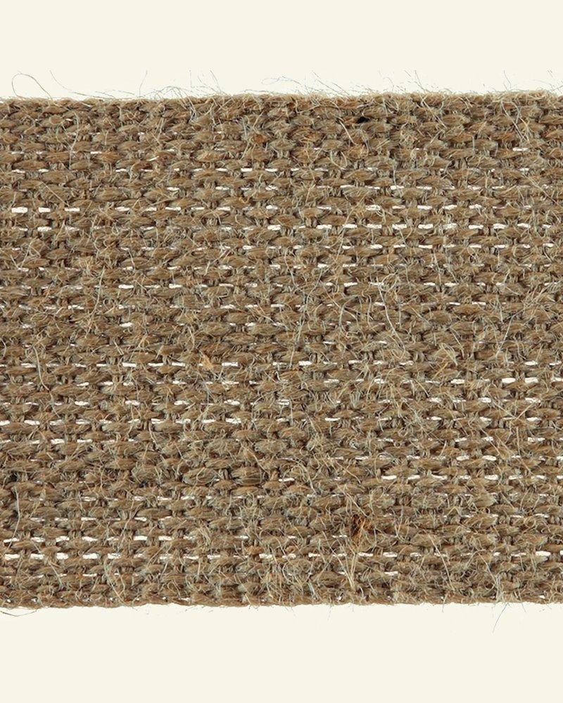 Jute Gurtband Kräftig 70 mm, 5m