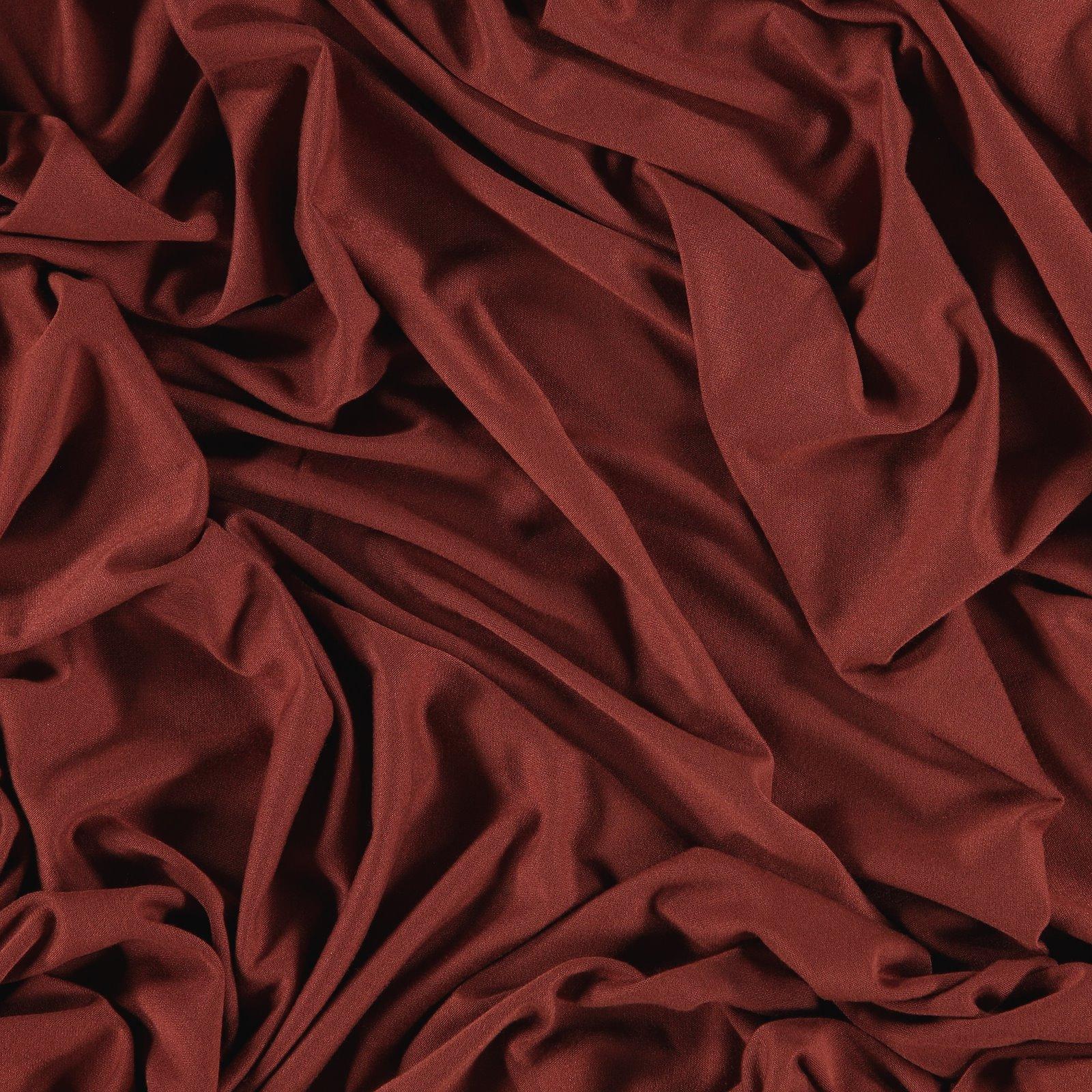 Viscose jersey rouge