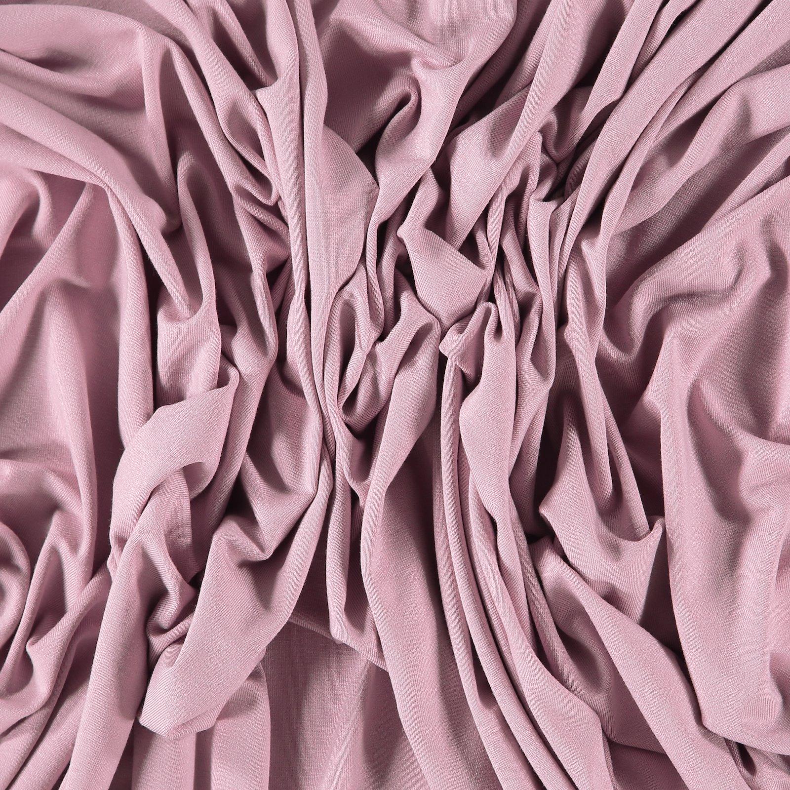 Viscose jersey light dusty violet