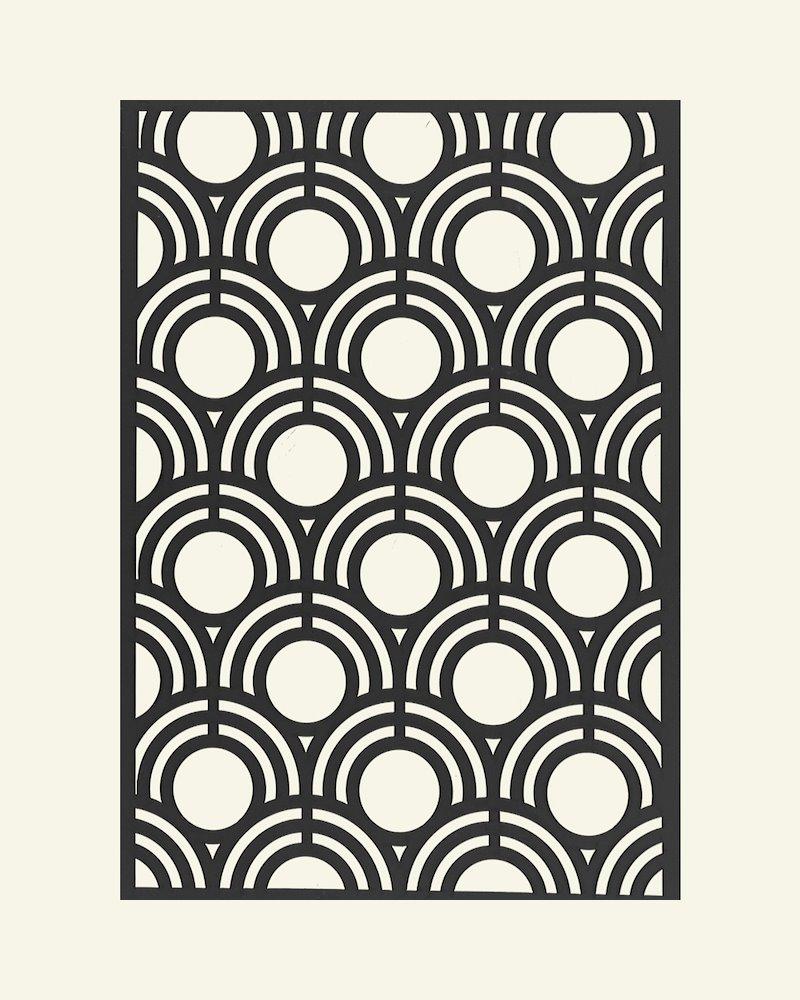 Stencil-Schablone Kreise, 21x29,7cm, St.
