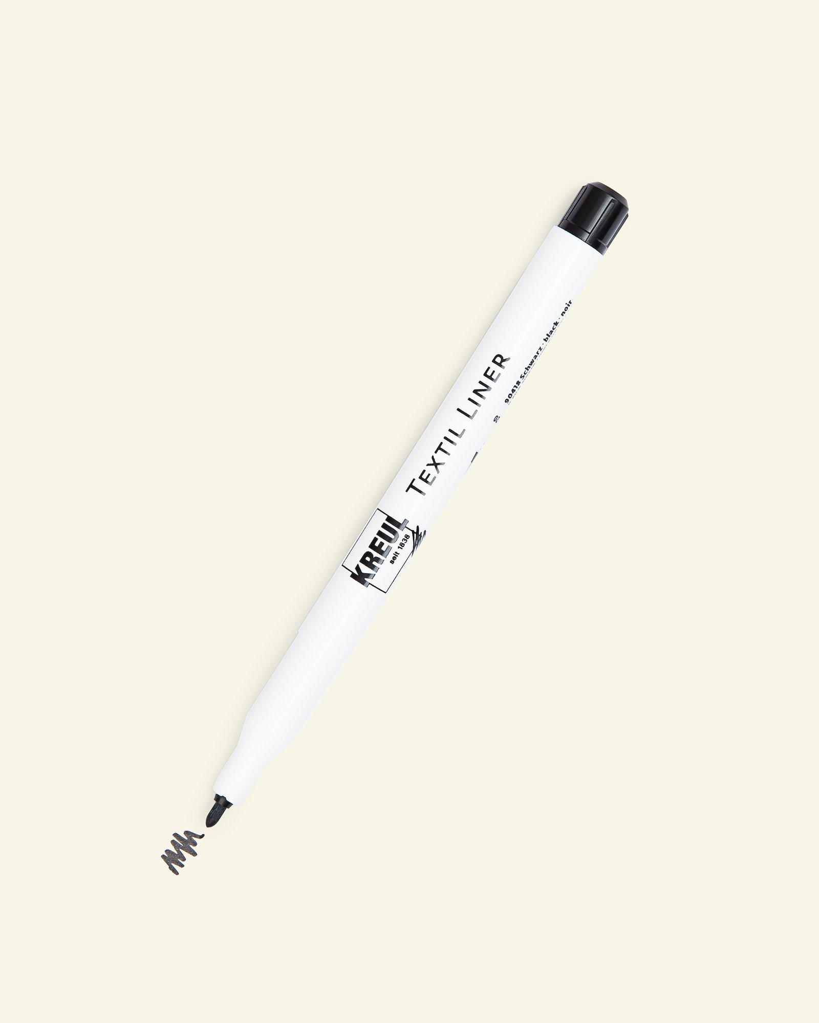 Textile Liner black 1-2mm