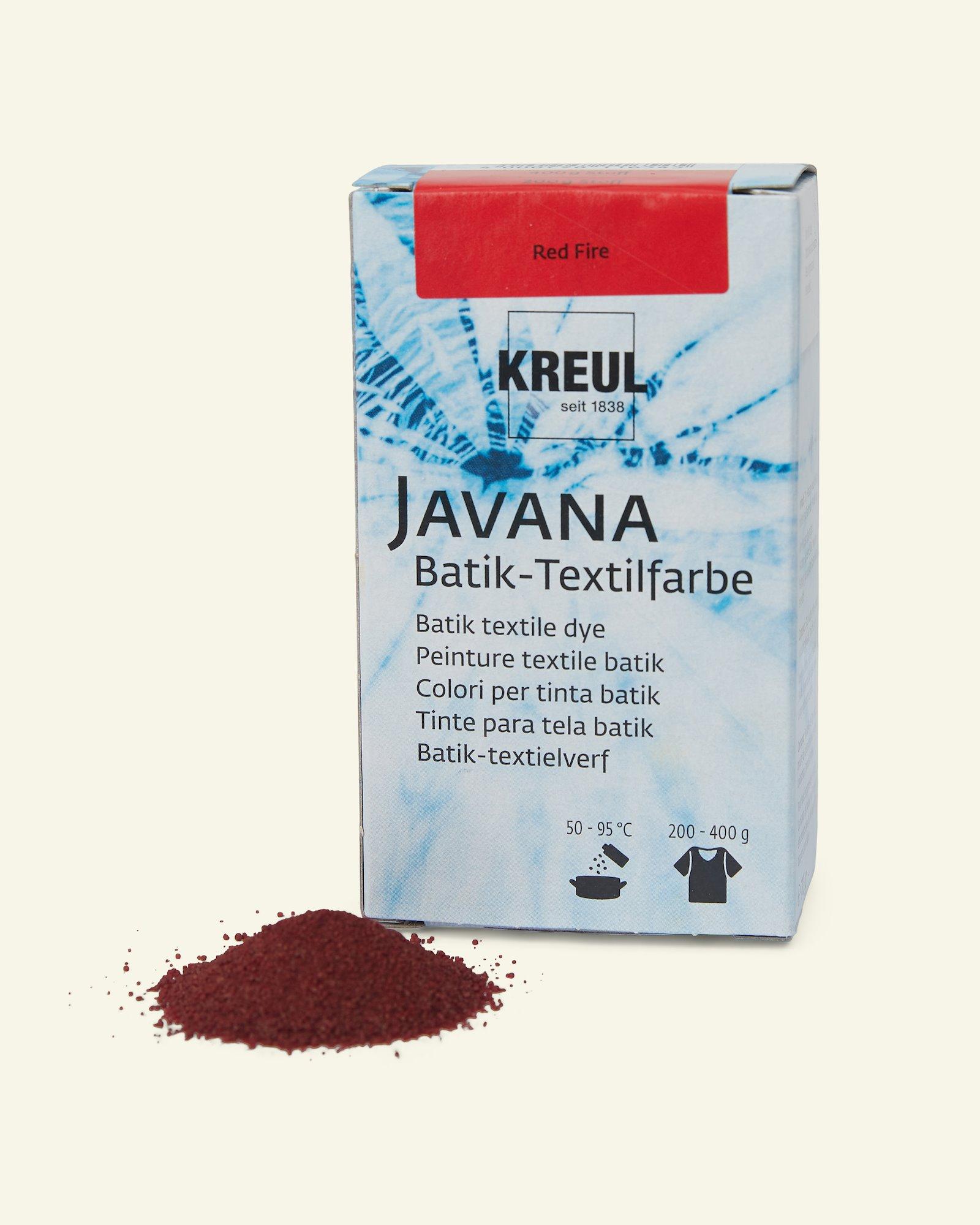 Javana batik dye red 70g