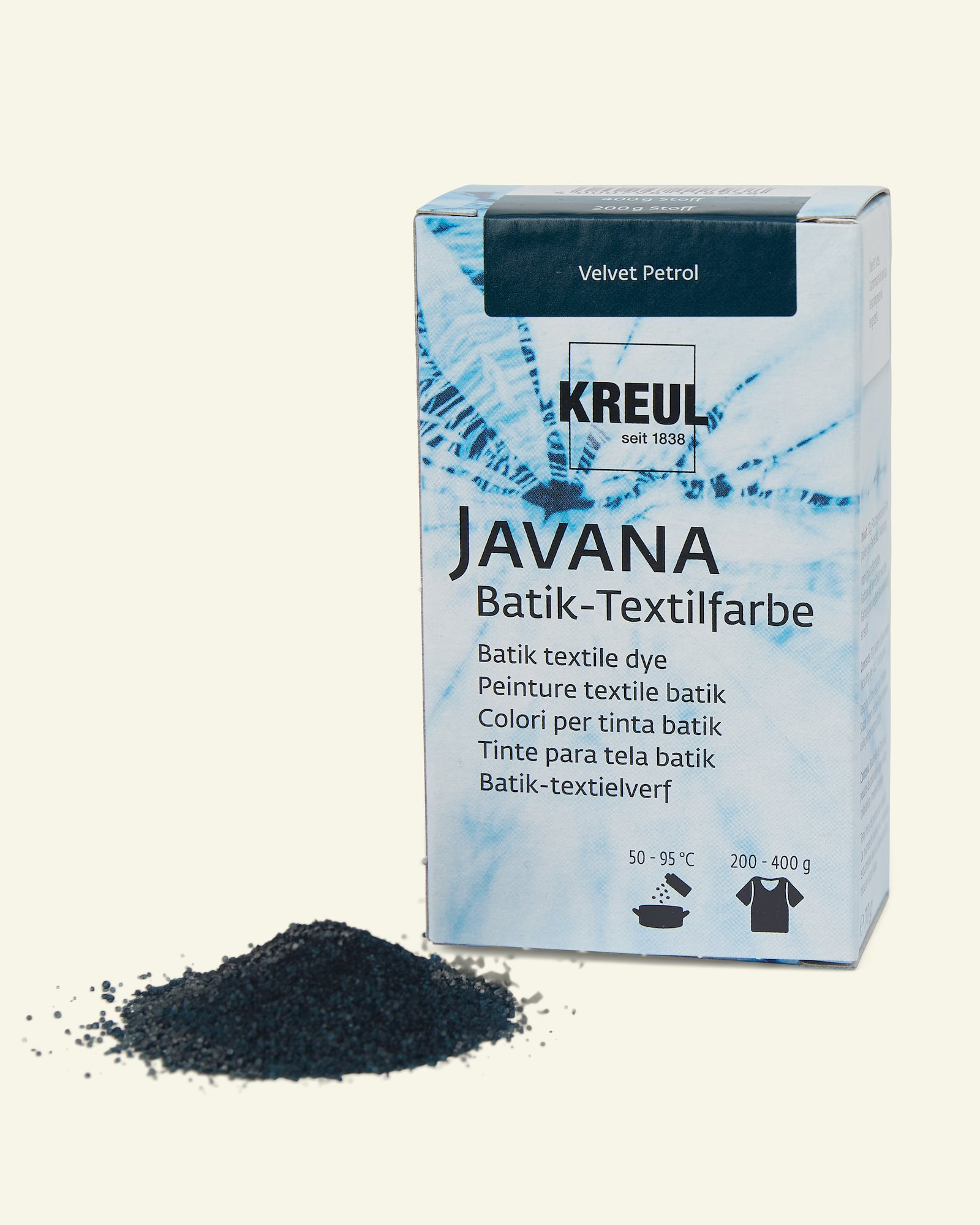 Javana batik dye petrol 70g
