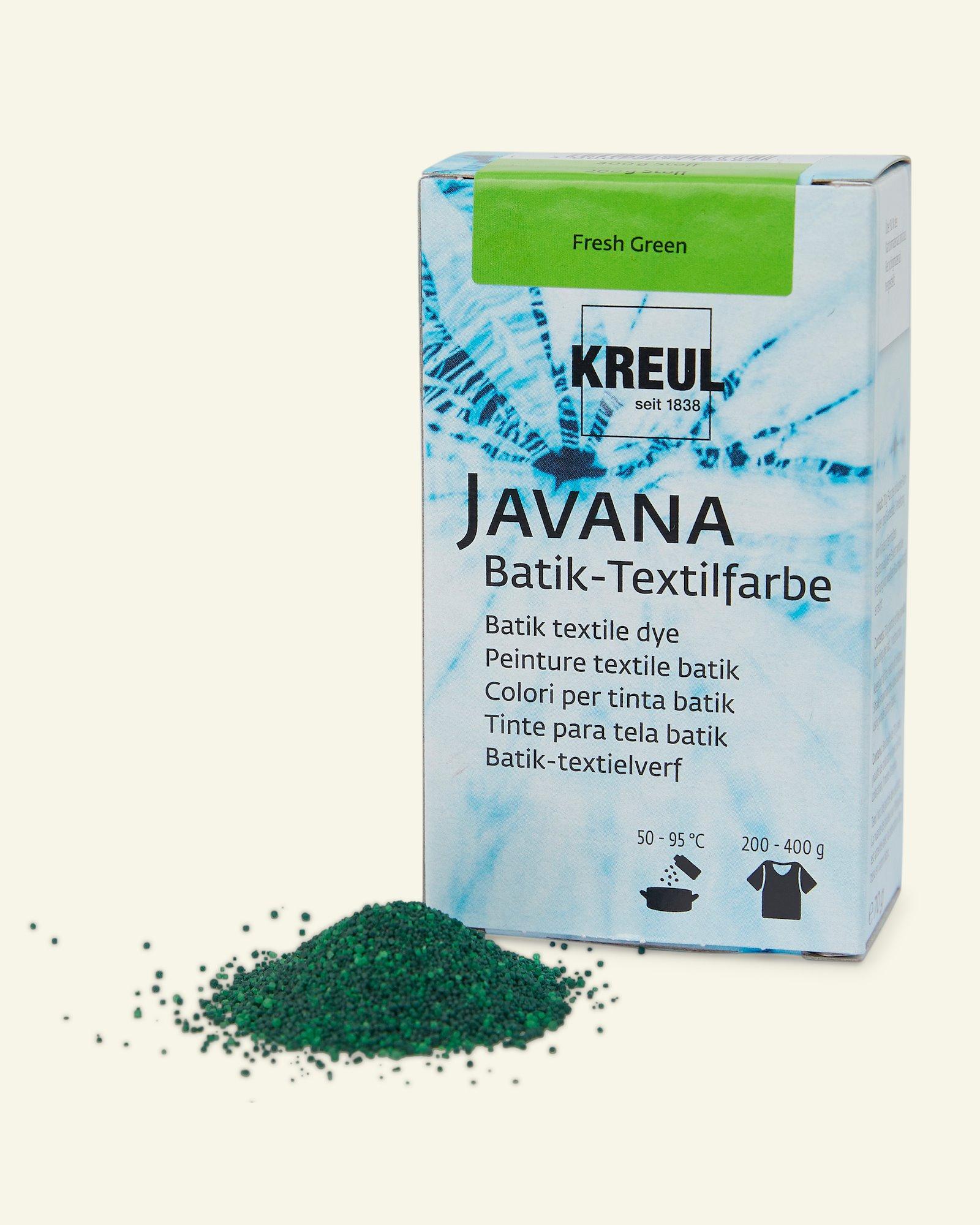 Javana batik dye light green 70g