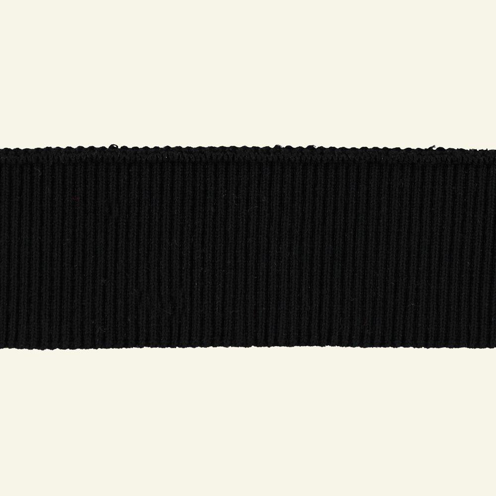 2x2 rib 6x90cm black 1pcs 96143_pack