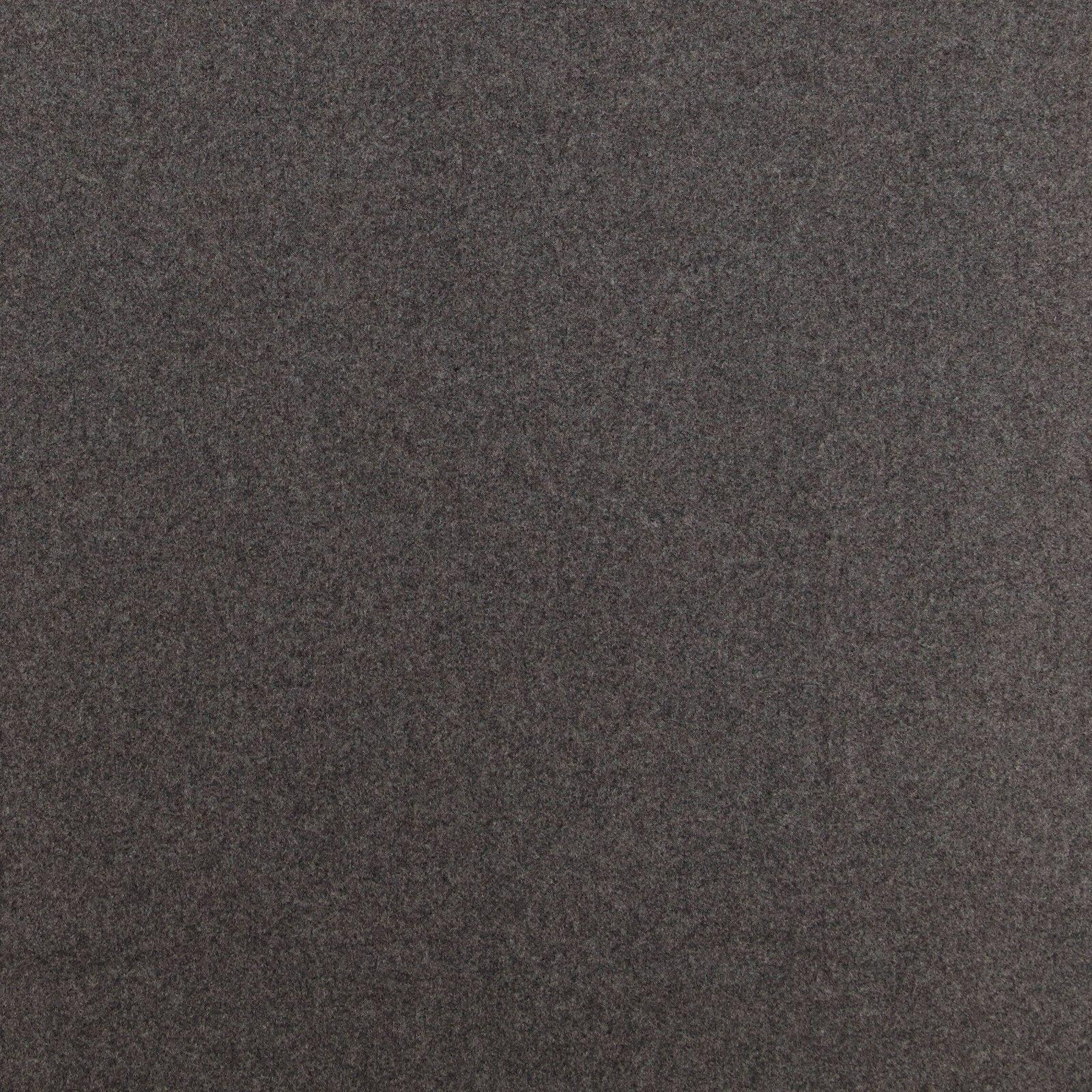 Woven wool grey melange
