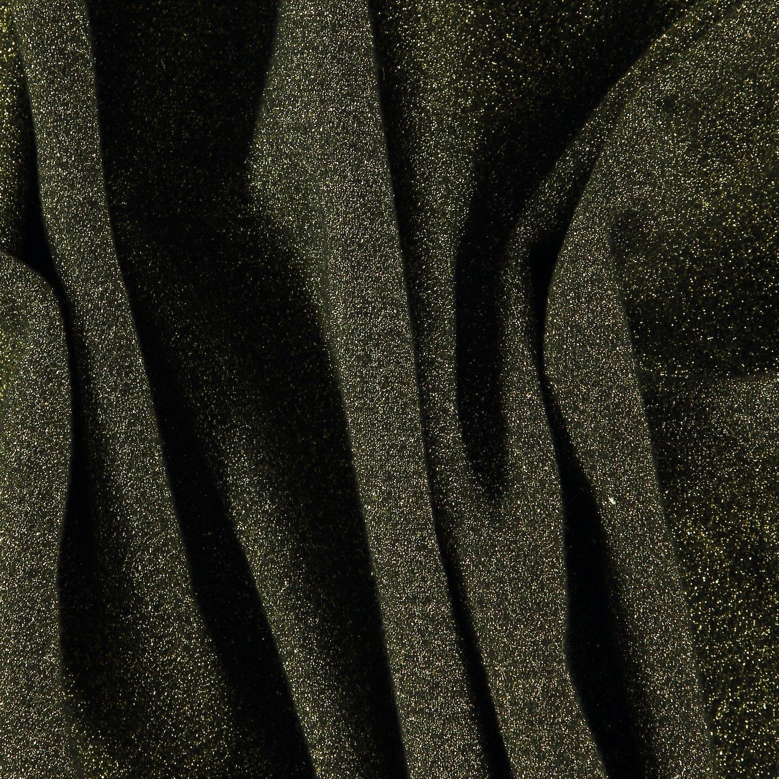 Knit wool boucle black/gold
