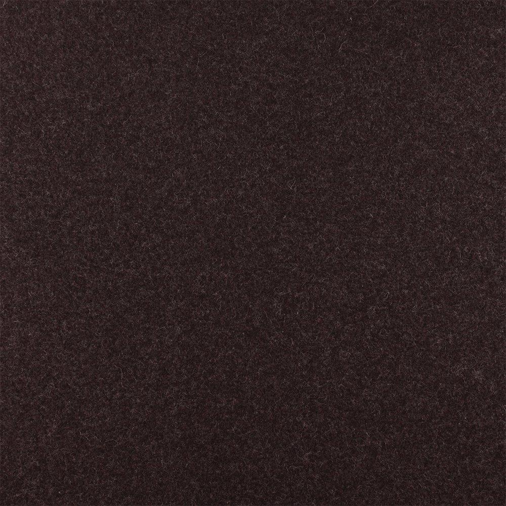 Wool felt dark brown melange