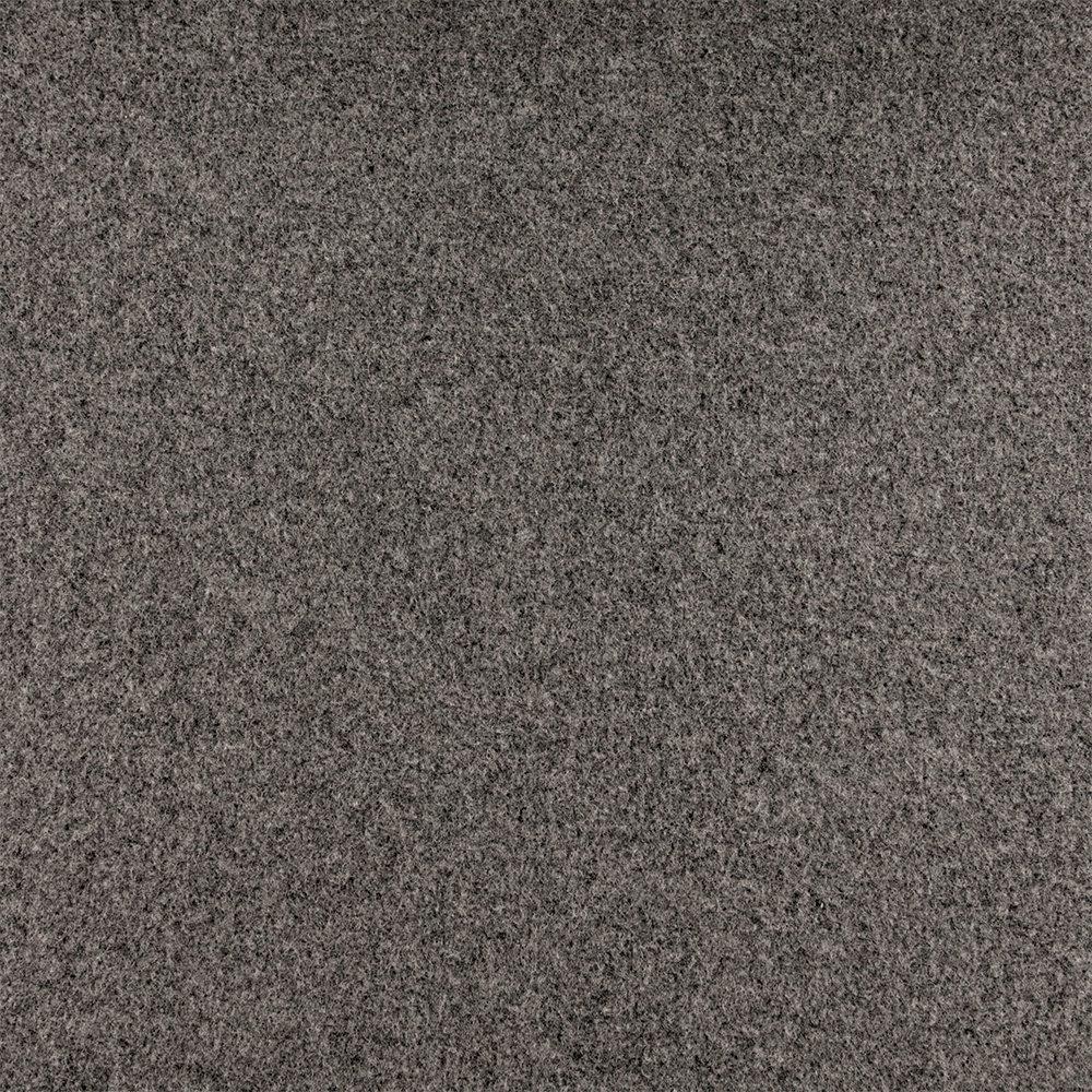Wool felt grey melange