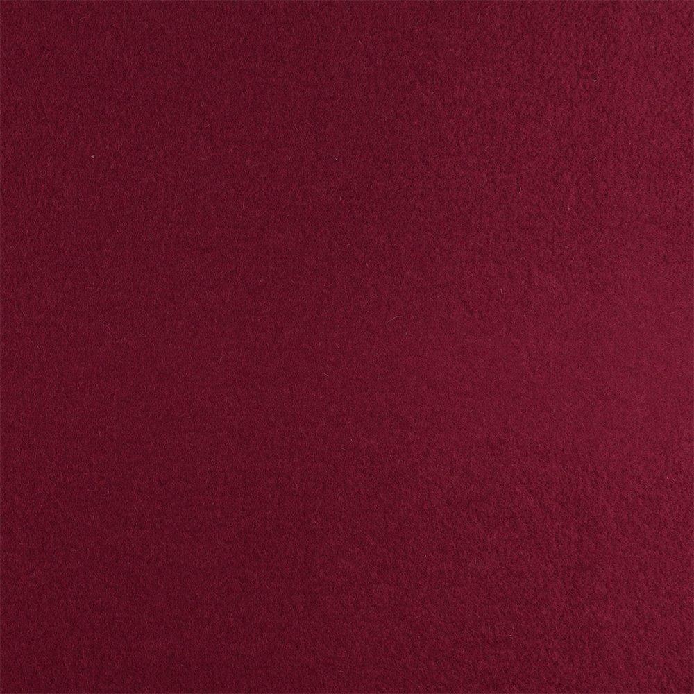 Wool felt dark red melange