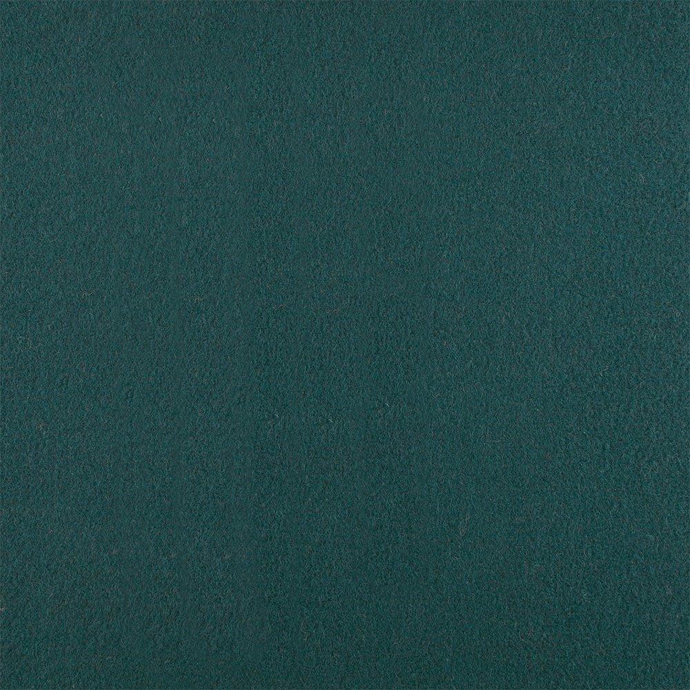 Wool felt dark jade melange