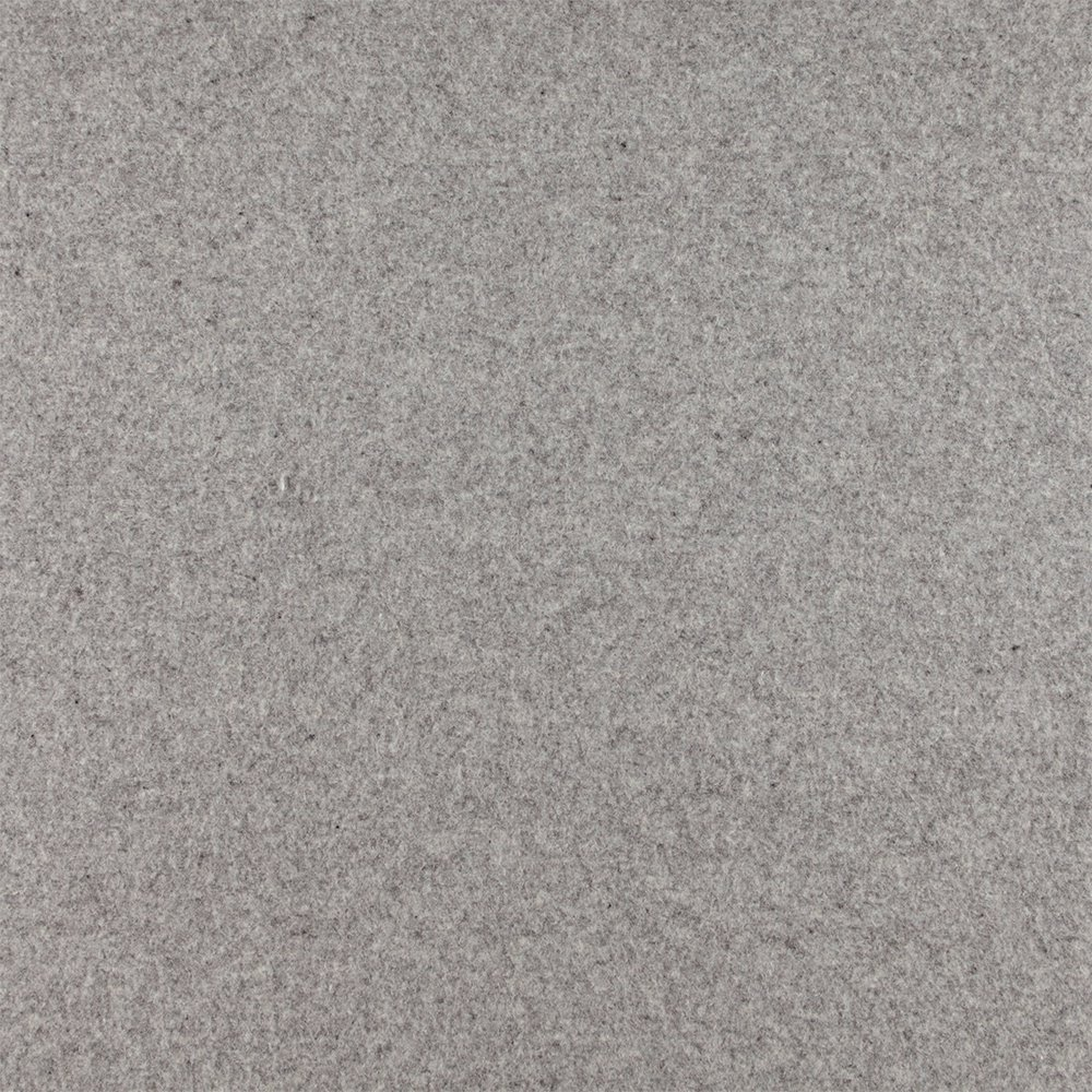 Wool felt light grey melange