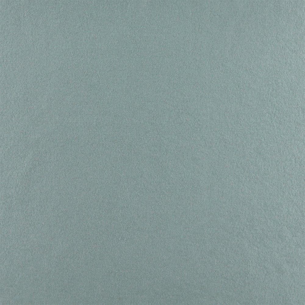 Wool felt dusty antique blue melange
