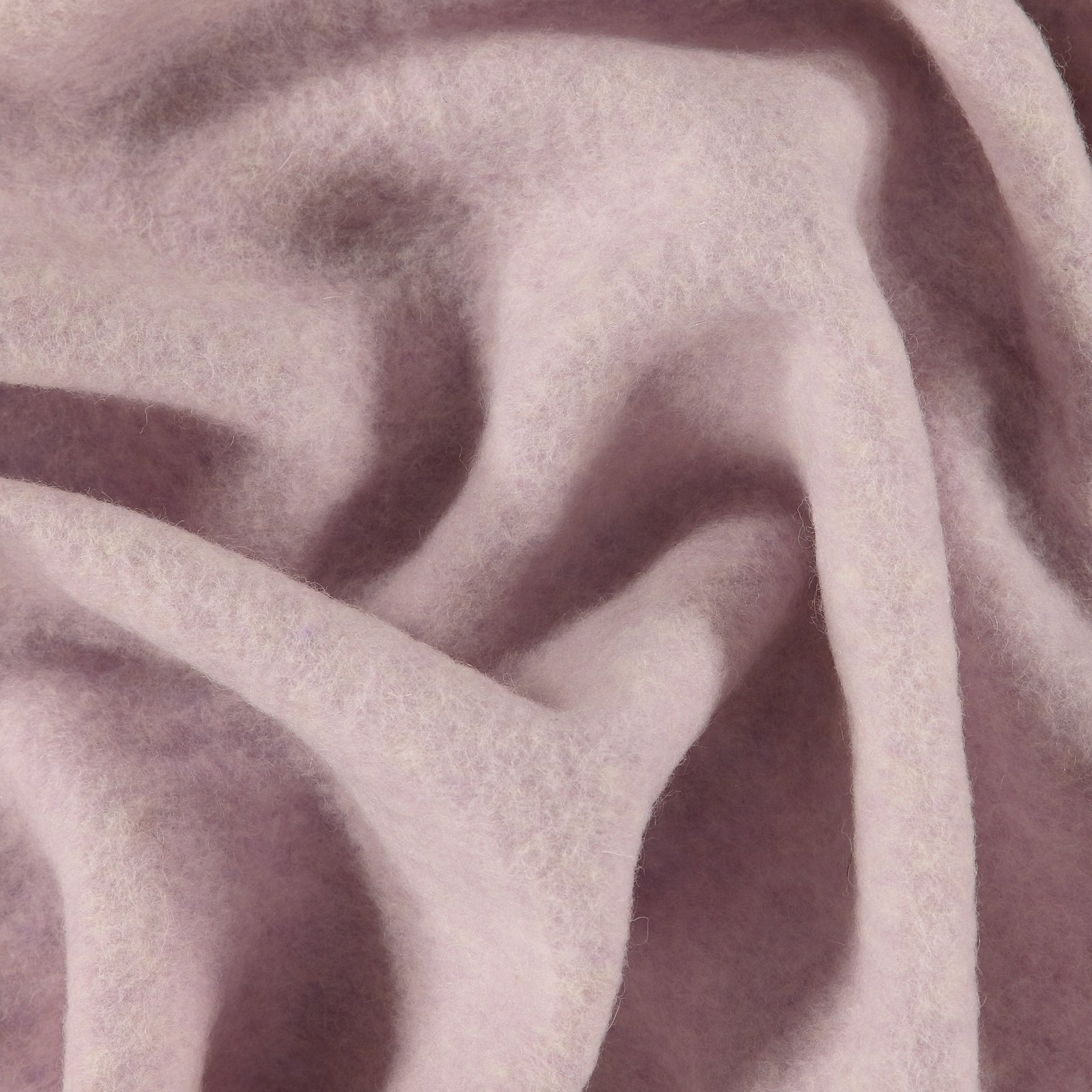 Wool felt dark lavender melange
