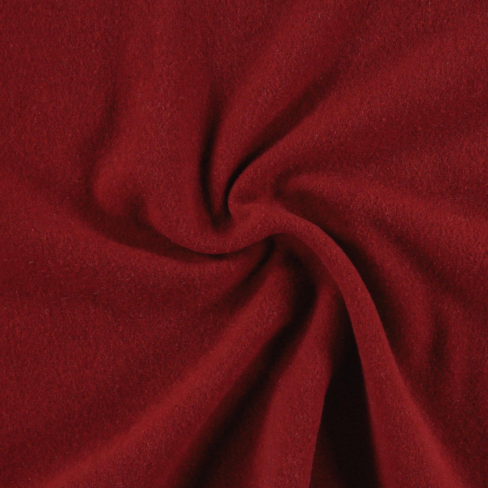 Wool red heavy