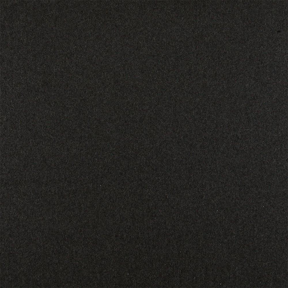 Wool dark grey melange heavy