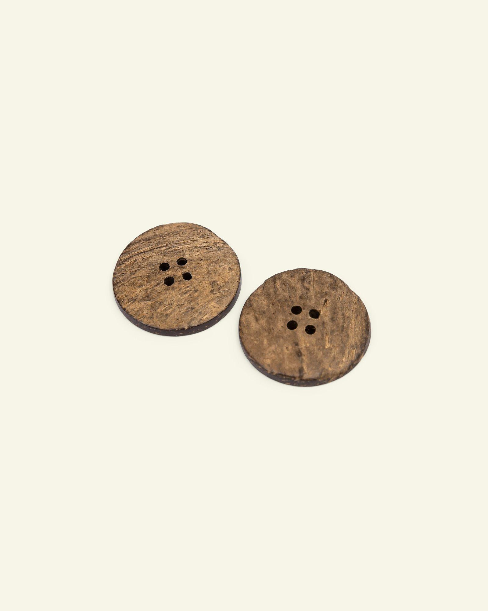 Button 4-holes coconut 30mm 2pcs