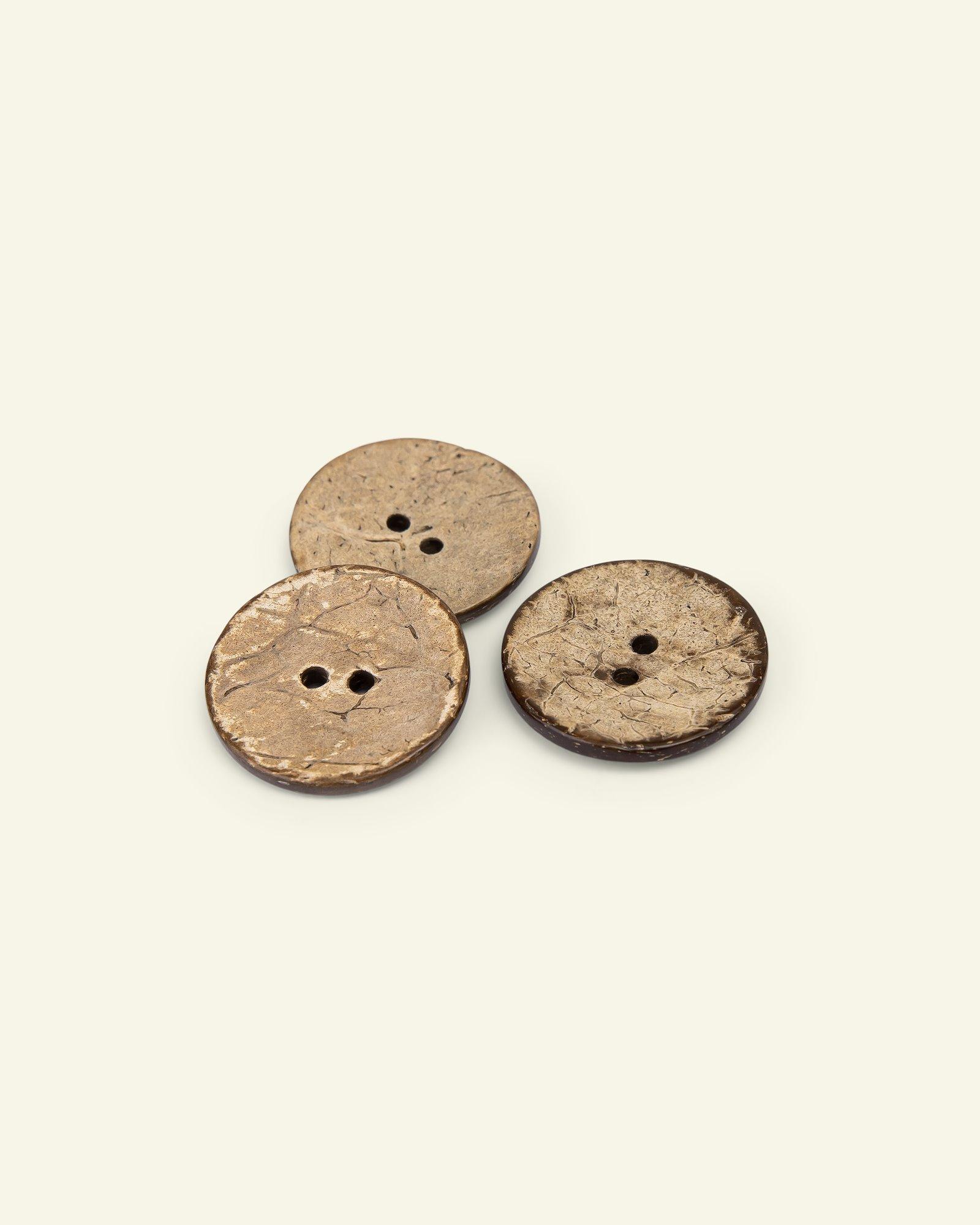 Button 2-holes coconut 30mm 3pcs