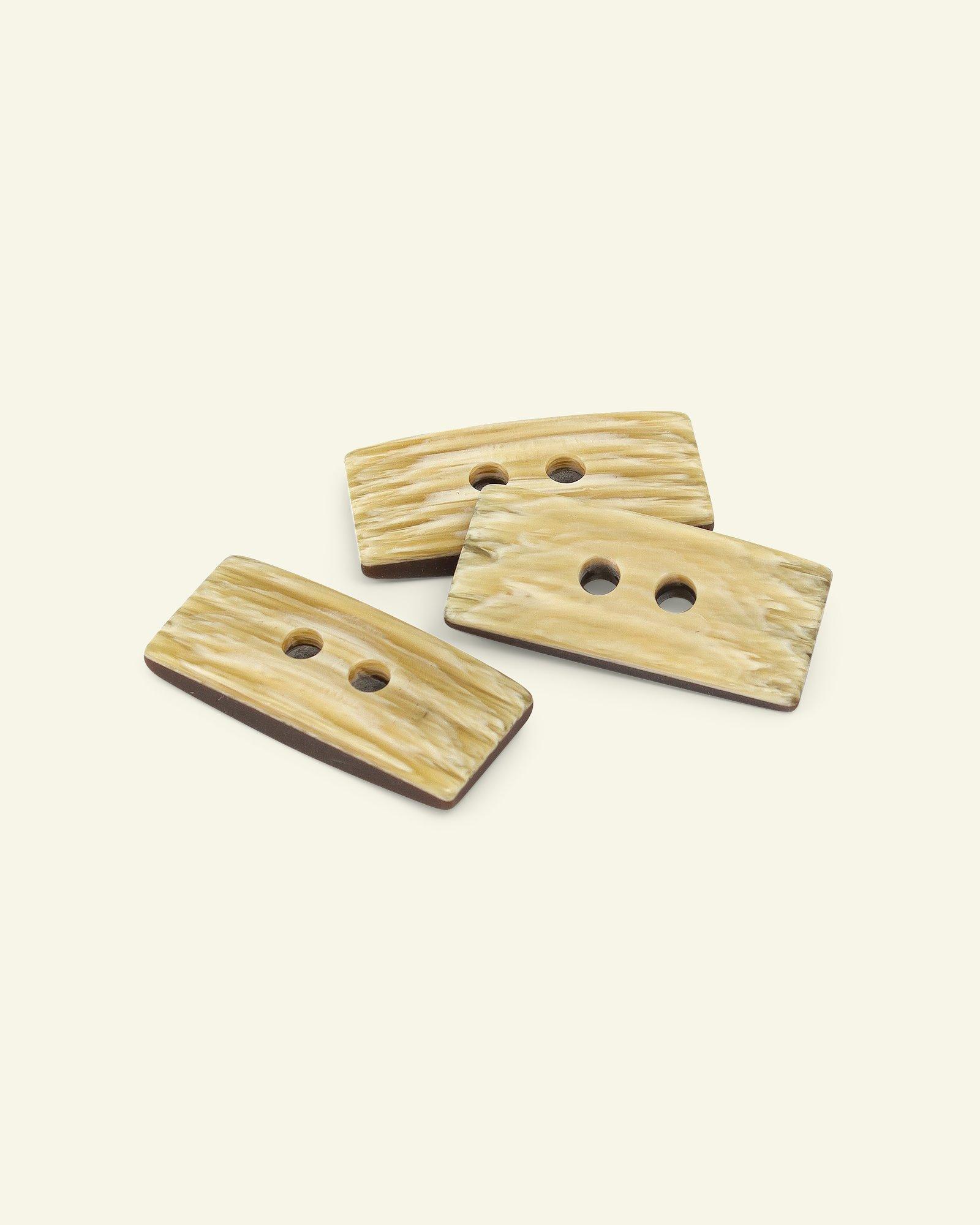 Toggle button duffel square 65mm 3pcs
