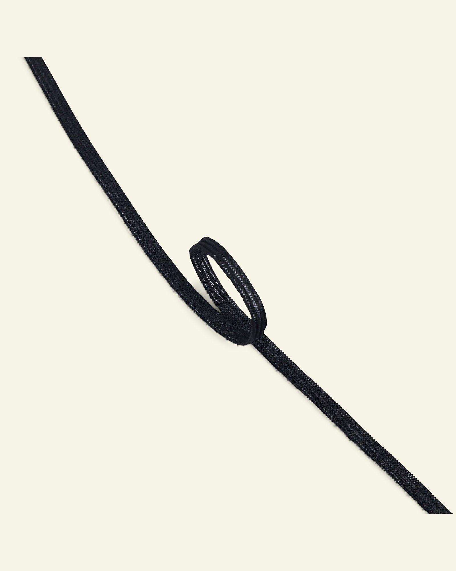 Elastic 4mm black 5m