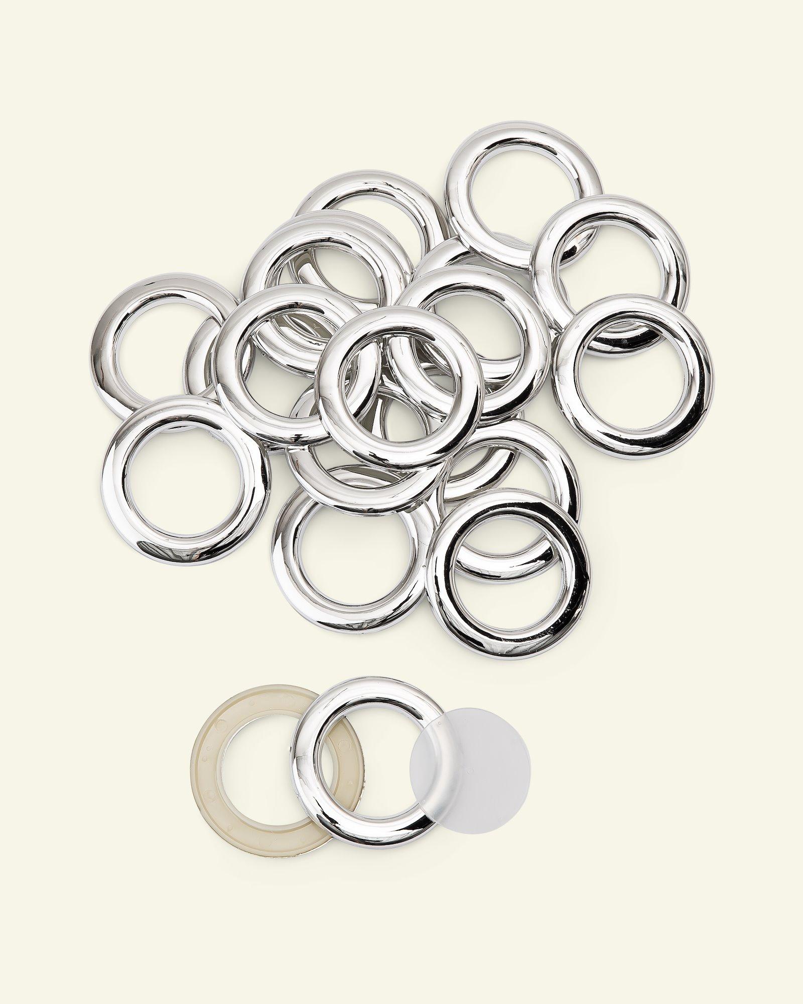 Ringe 55x35mm Silber 10Stk