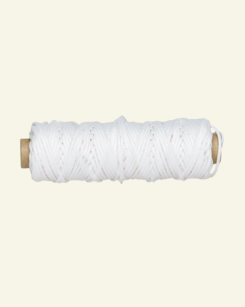 Polyesterschnur 1,5 mm Weiß 15m